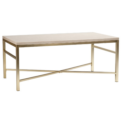 Faux Stone Coffee Table - (1)