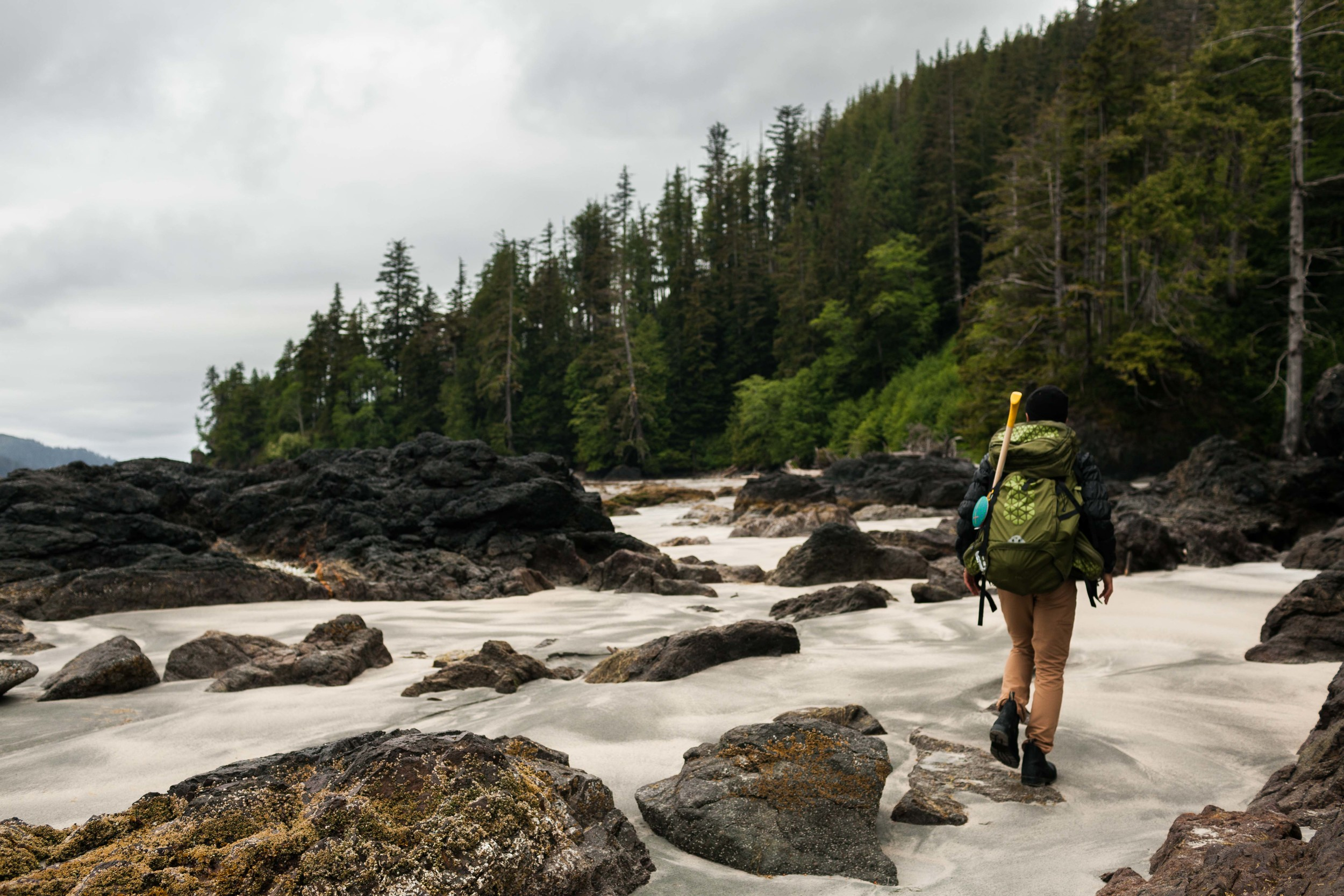 San Josef Bay, Cape Scott Provincial Park.