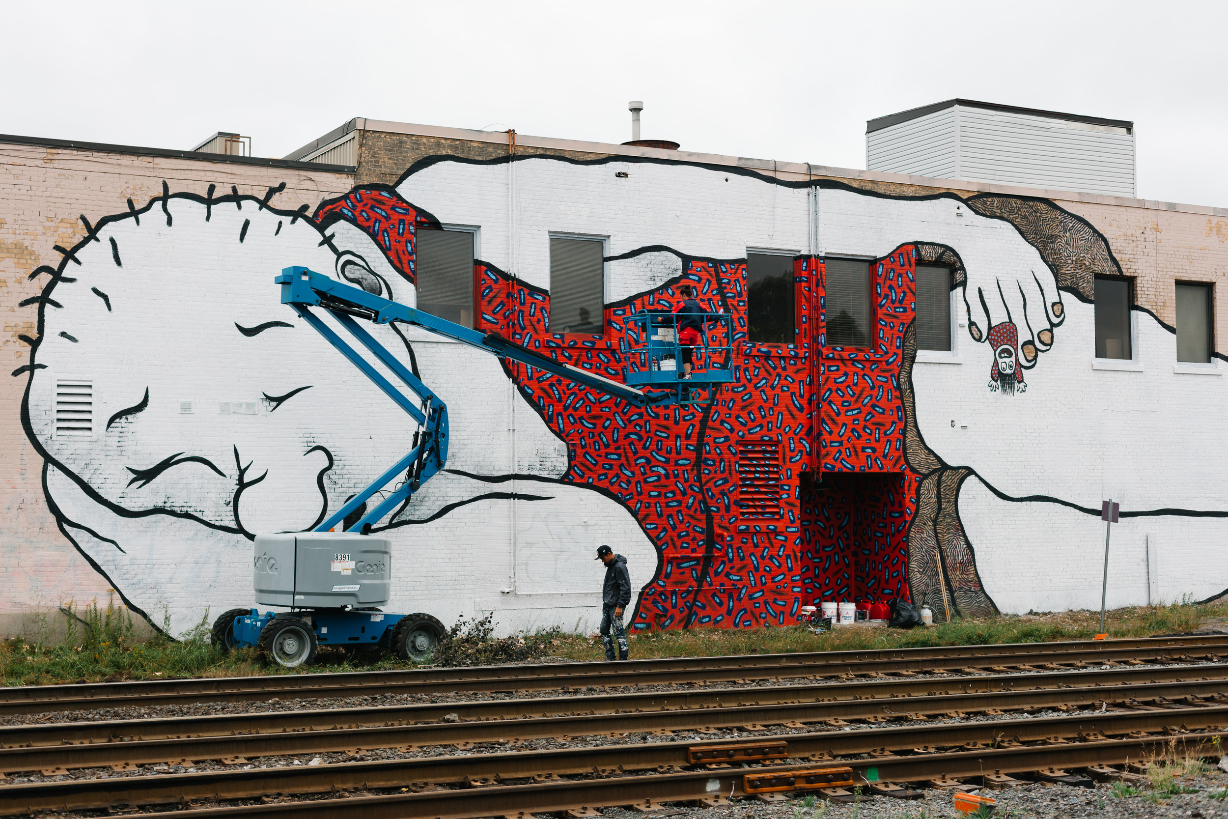 France based Muralists, Ella & Pitr