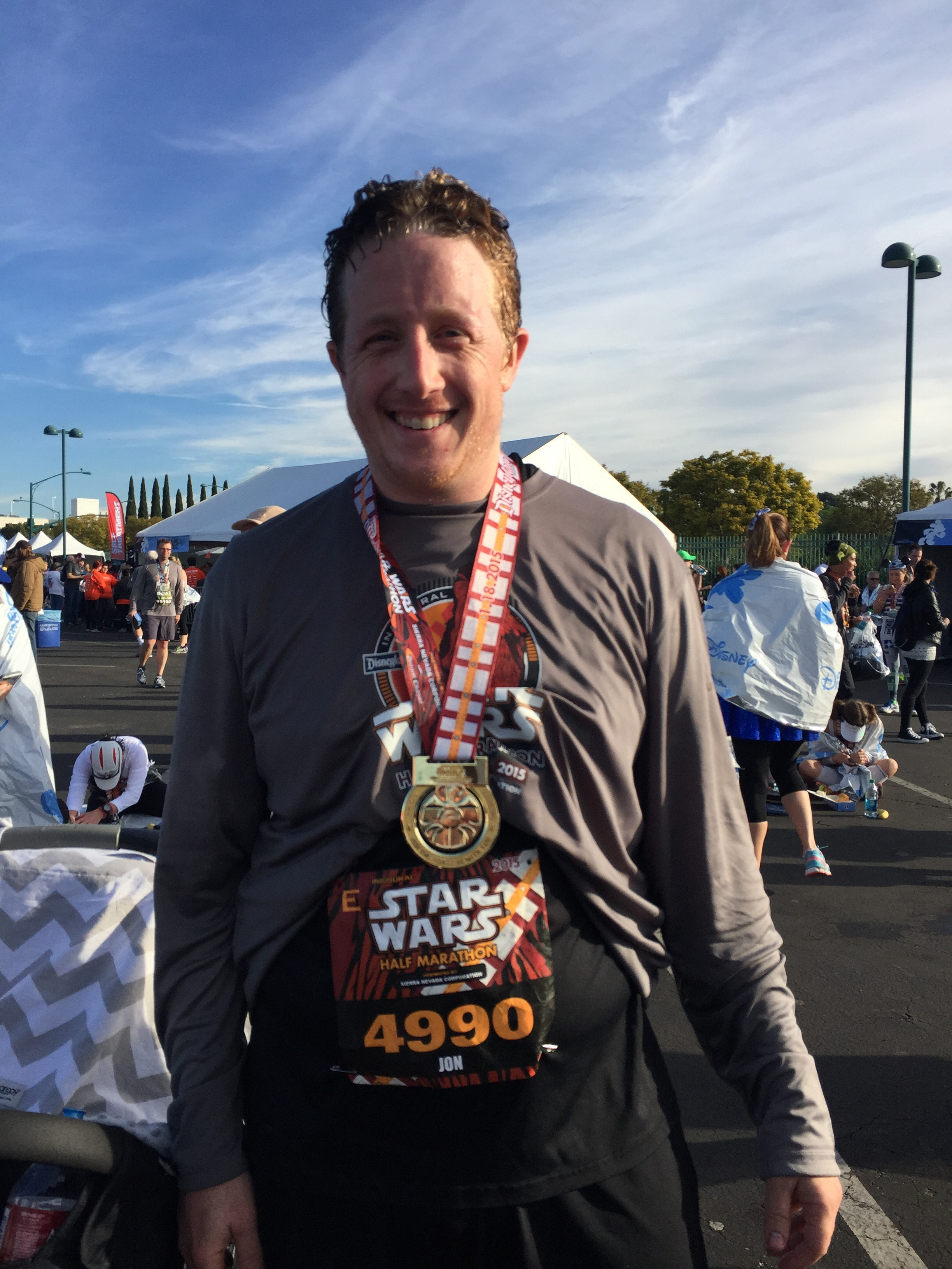 RunDisney Star Wars Half Marathon January 18, 2015
