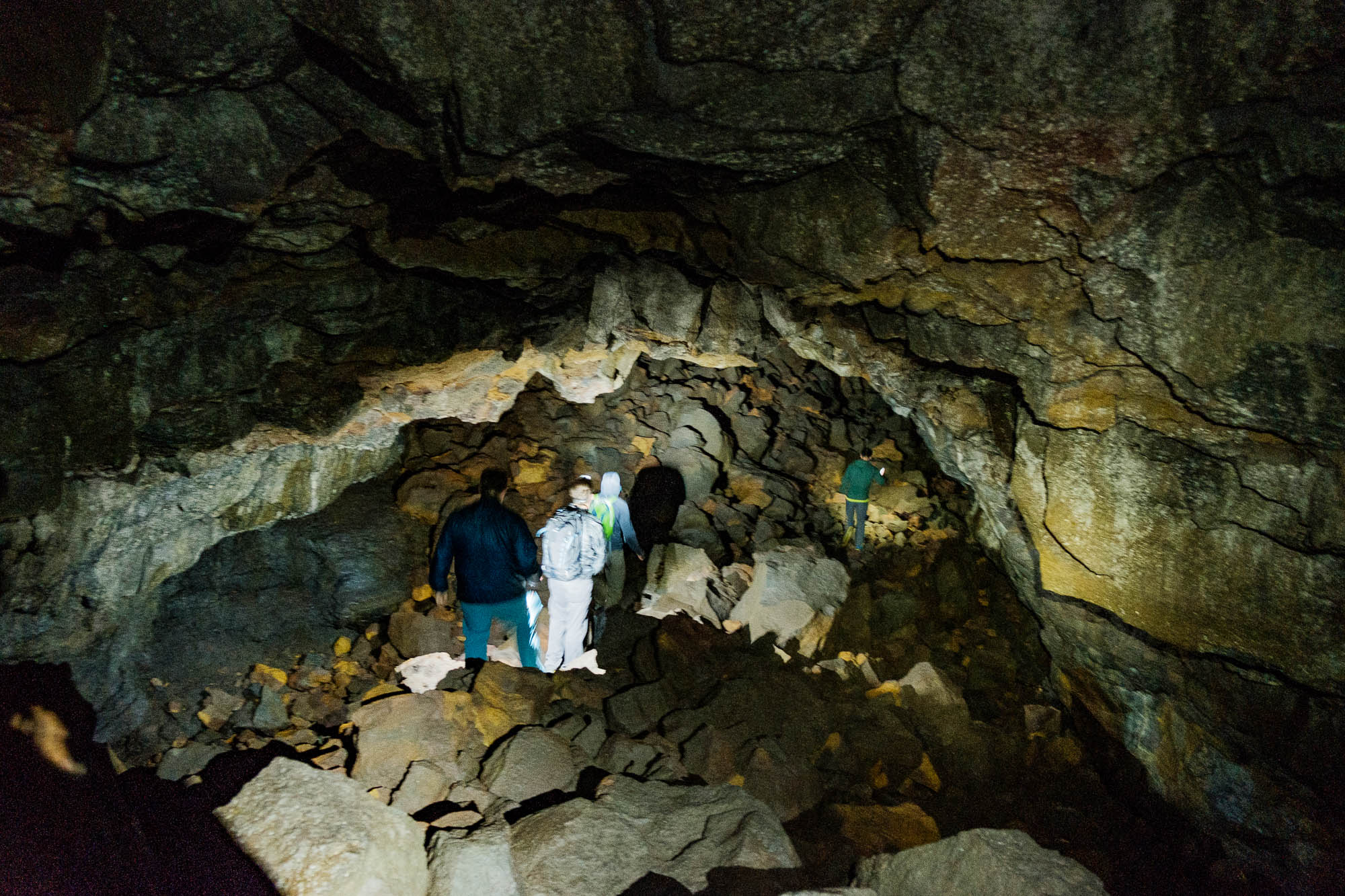 Heading into the Caves