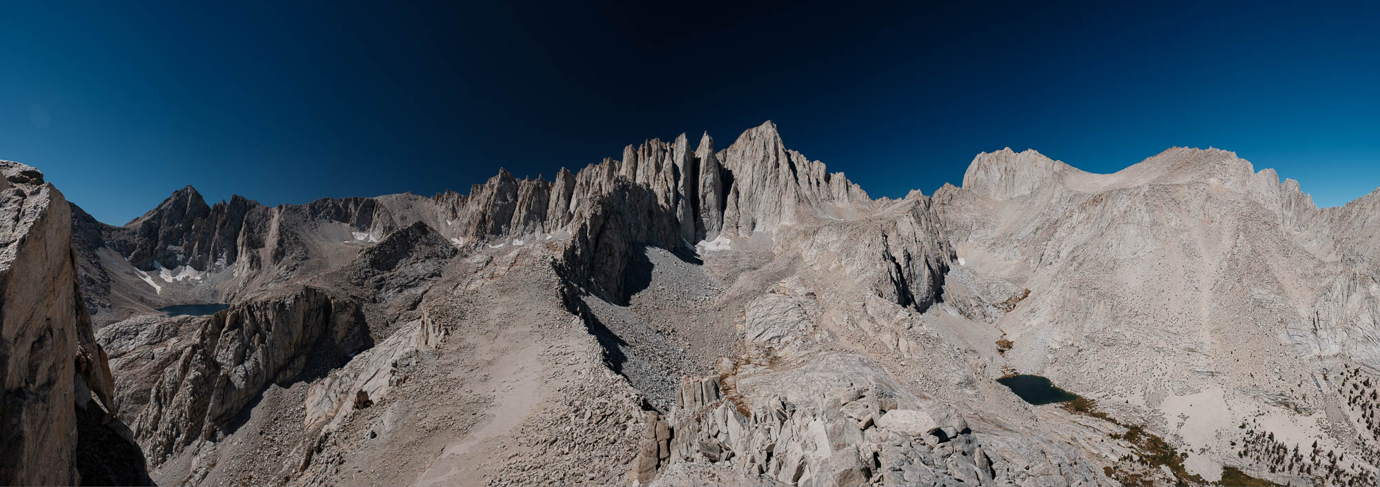 The unobstructed view of Mt Whitney from the Summit of Thor Peak