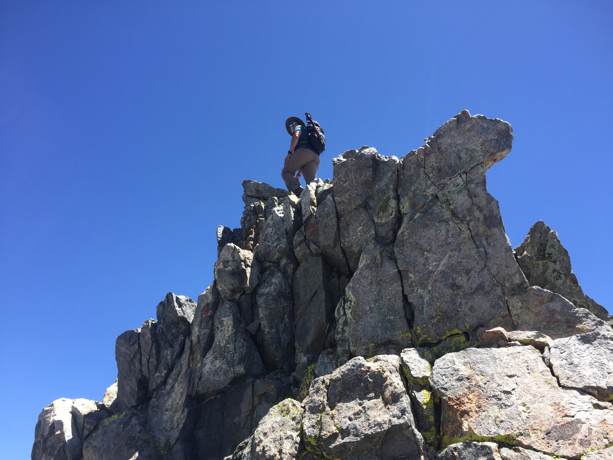 Benny on the South Summit