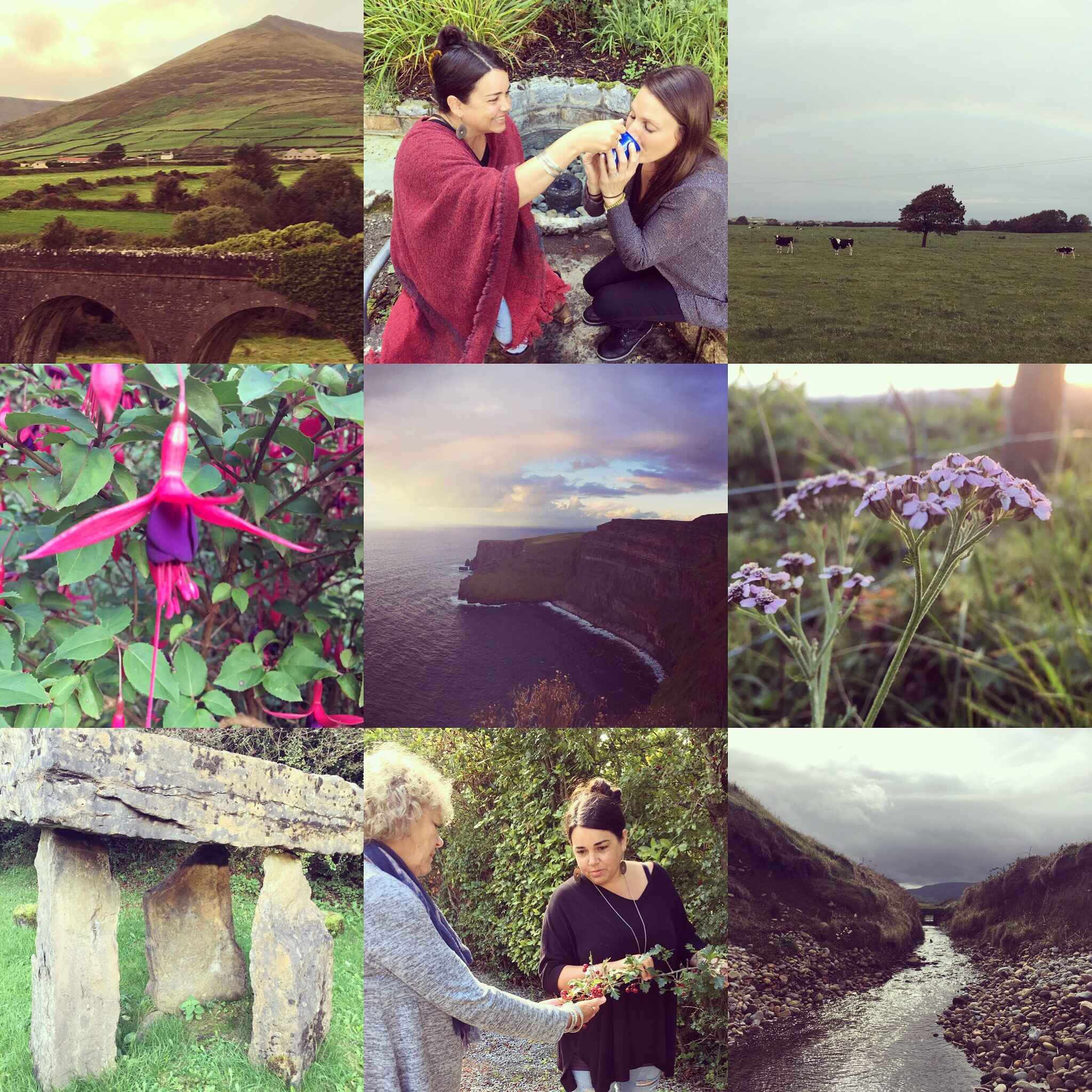 """Ireland August 2019 - The Spirit of Ireland Plant Wisdom RetreatCome, join us and explore the Sacred Emerald Isle on our 2019 Ireland retreat with Herbalists and Flower Essence Practitioners Lupo Passero & Brooke Sullivan. We are excited to share our great grandmother's birthplace with you and to explore these ancient lands of magic and gentle mysticism, quite a nurturing seat of Soul to be found on the planet.This retreat is a collaboration between Twin Star Tribe & The Wild Temple: two amazing, groundbreaking schools spanning from California to California, offering an exciting range of classes, programs, workshops and retreats around the world.Join us for this adventure of a lifetime & discover for yourself the magic of Ireland's great heart.This trip is perfect for all levels of herbal experience; whether you are a beginner, the """"budding"""" herbalist or if you're an experienced herbalist and would like a deeper understanding of sacred plant medicine. This a plant-centric, cultural tour of incredibly potent + sacred sites! Each day will include time with our herbal allies, interaction with the local plants and time for exploring the rich history of this sacred land. At the end of this tour, each participant will be awarded a Certificate of Completion to commemorate what we have discovered and learned on this trip. August 1 - 7 2019August 1-7 2019Registration information can be found HERE"""