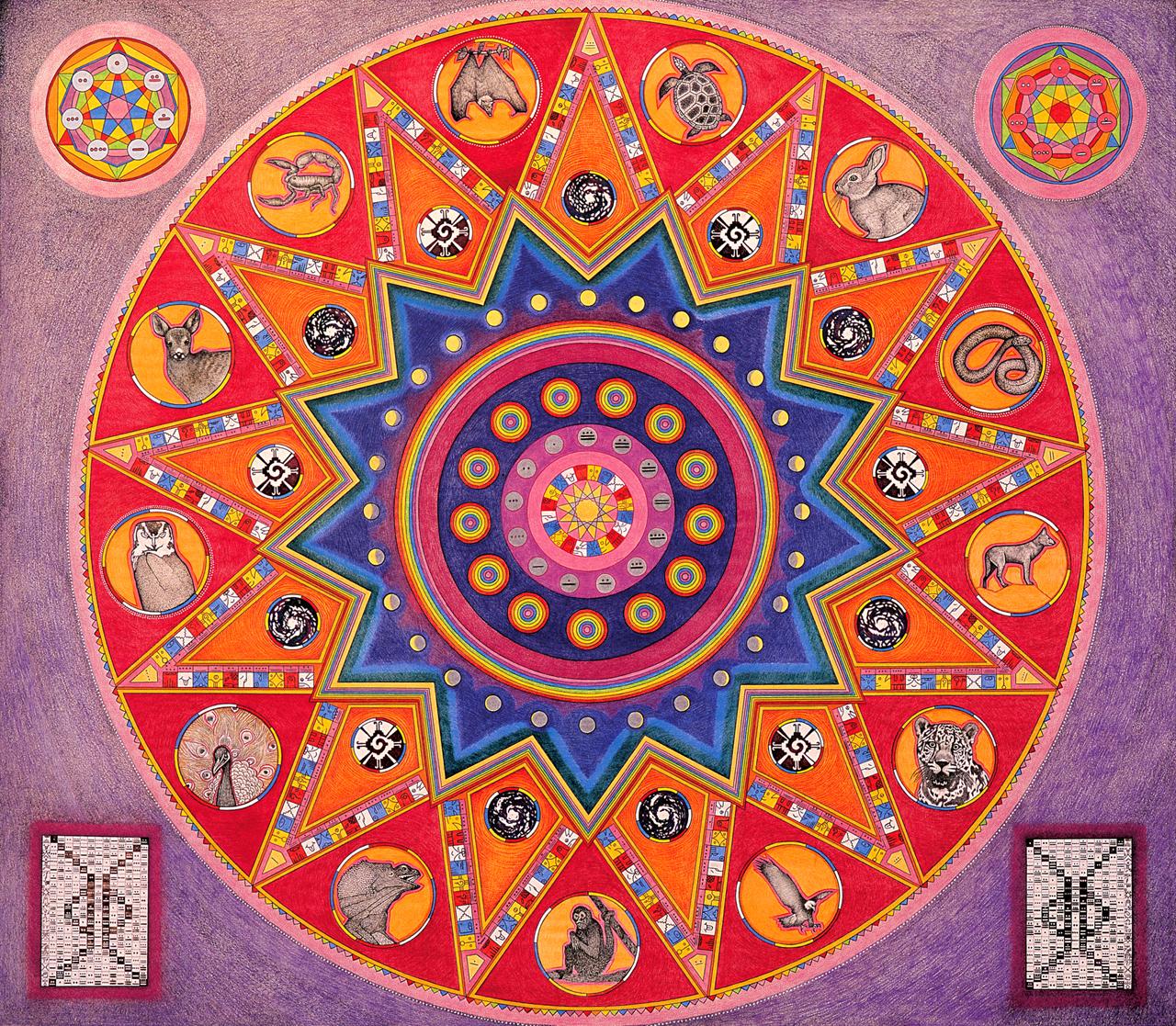 2003 - 13 Moon Calendar Animal Totems