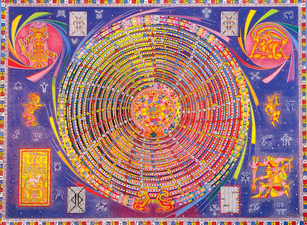 2000 - Dreamspell Calendar - The Galactic Mandala