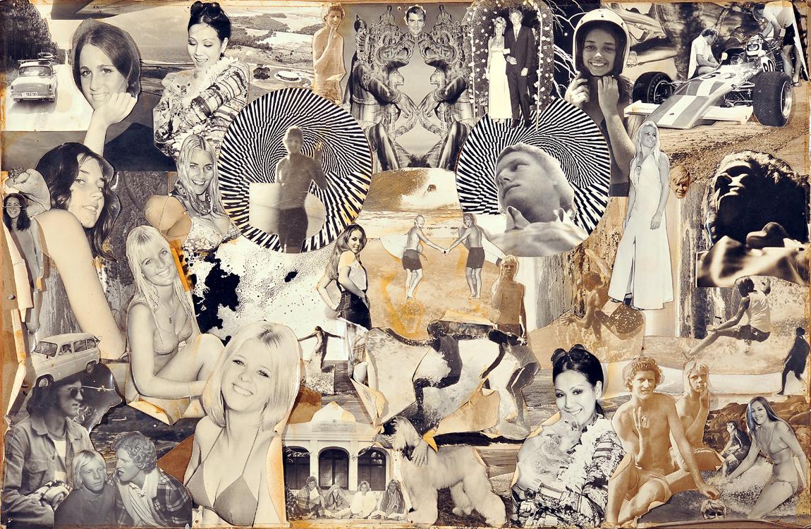 1970 - Self Portrait, Collage