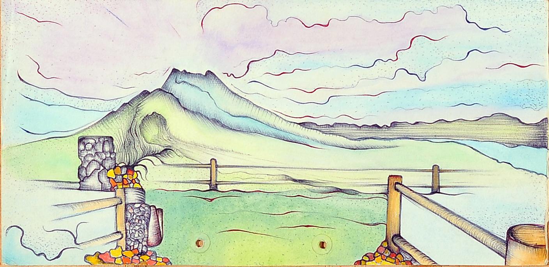 1976 - Mt Batur