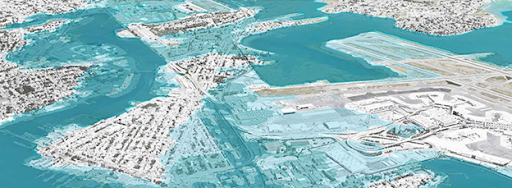 Projected late century flooding in East Boston and Chelsea Creek Credit:   Stoss