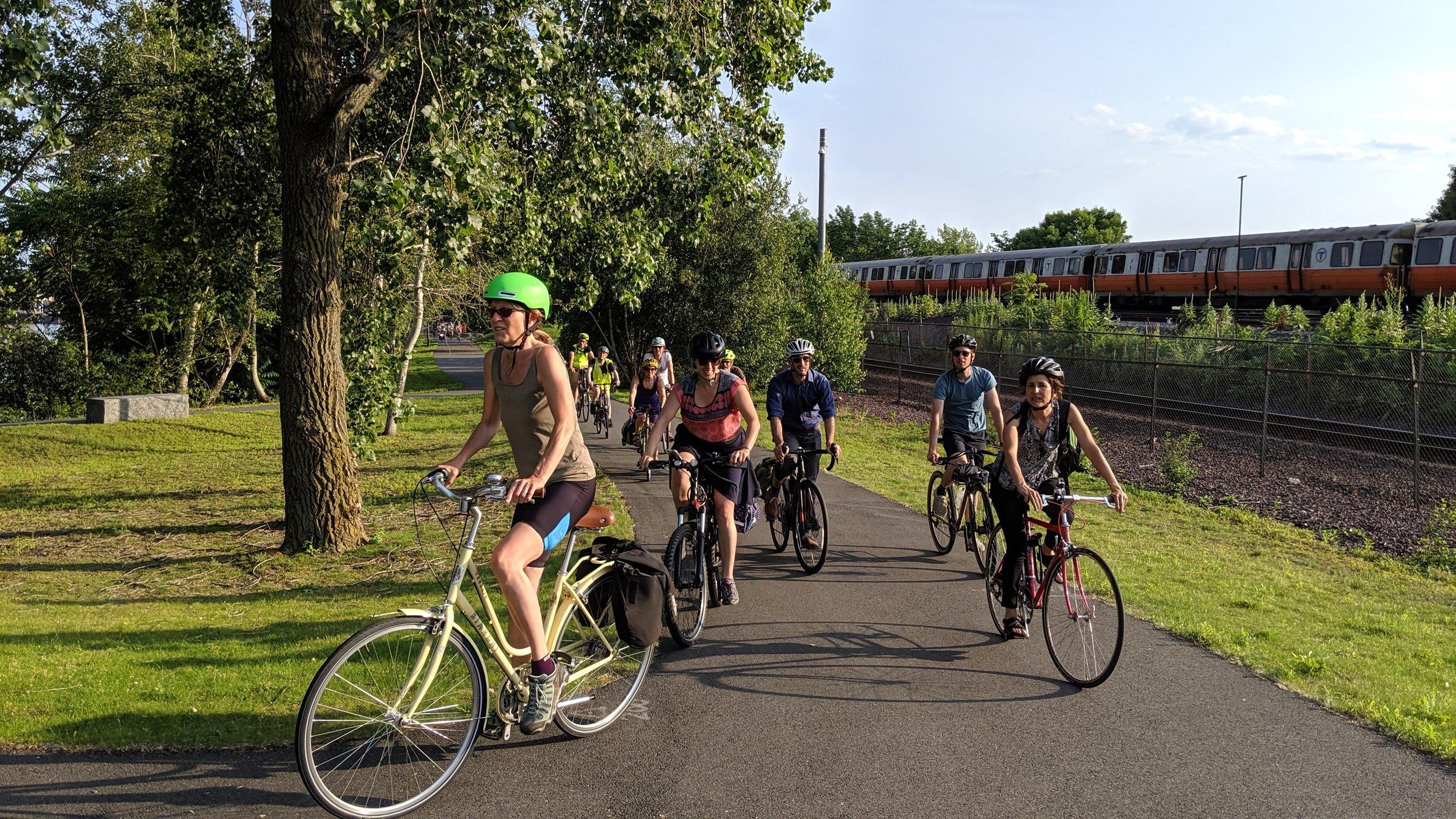 Wellington Greenway ride. - Medford