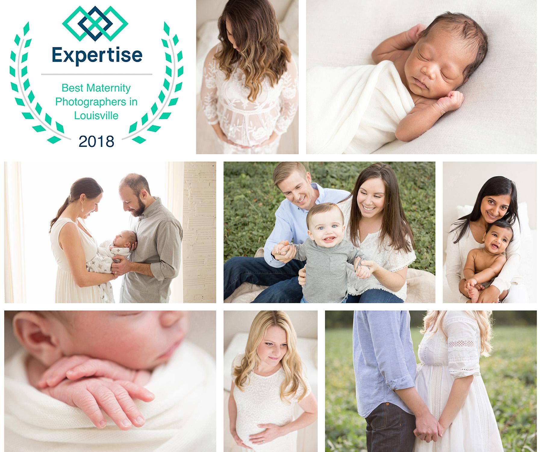 Voted Best Newborn Maternity Family Photographer Louisville KY | Julie Brock Photography
