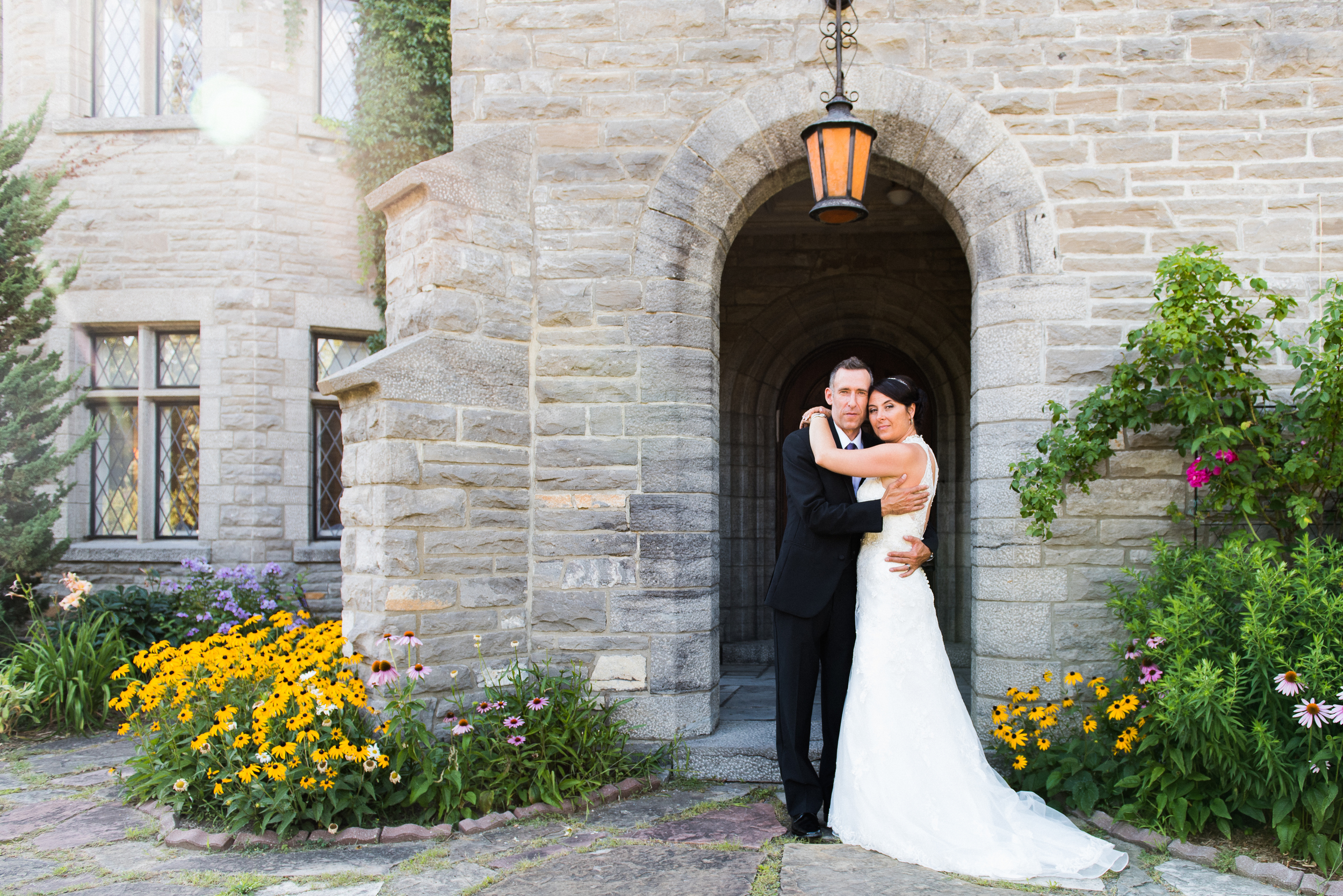 Melanie+JJ at Chateau Monsarrat Quebece