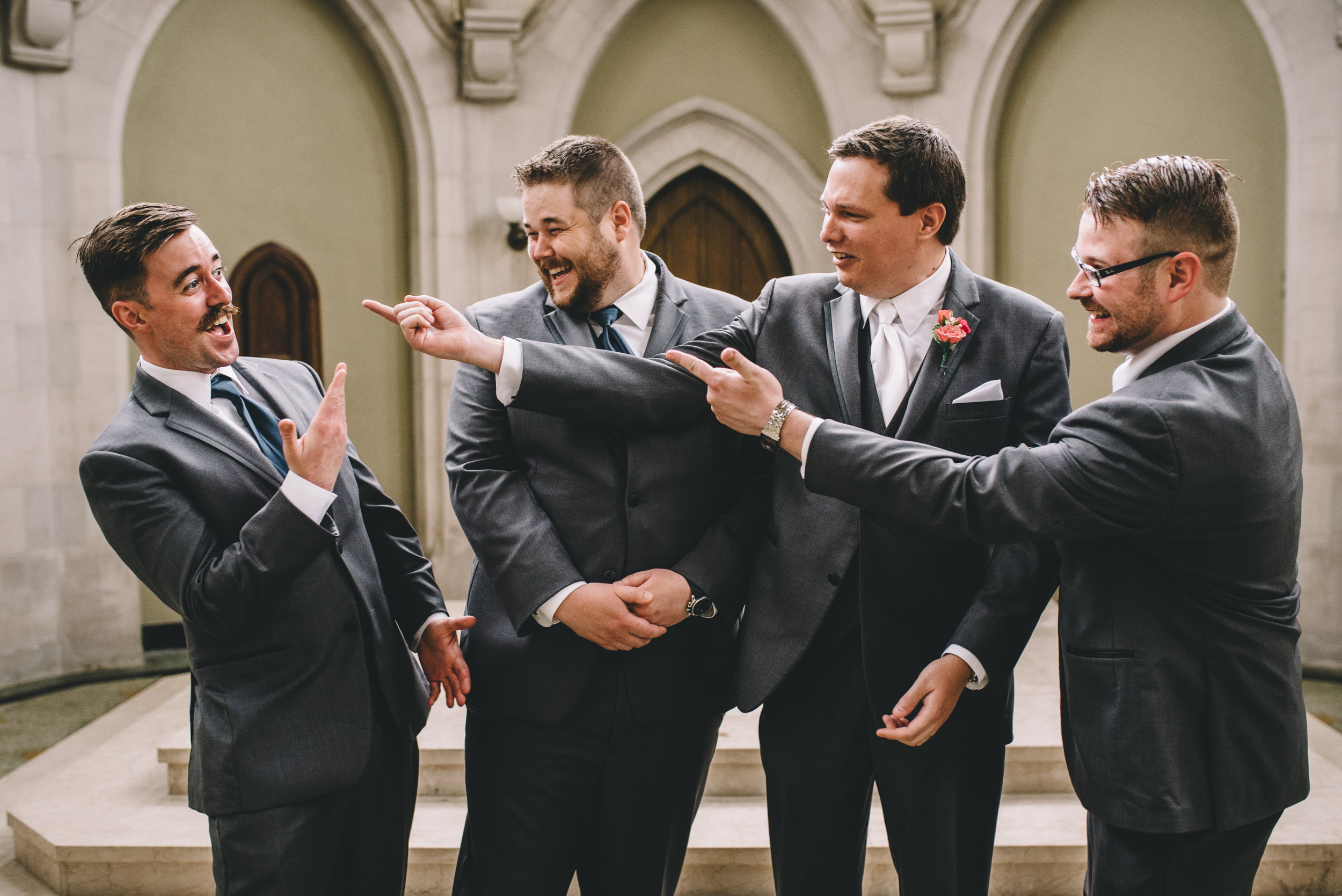 Groomsmen The Mount Community Centre Mocha Tree Studios Ottawa Wedding and Engagement Photographer and Videographer Dark Moody Intimate Authentic Modern Romantic Cinematic Best Candid ALEX + BRIAN: THE MOUNT, PETERBOROUGH, ON