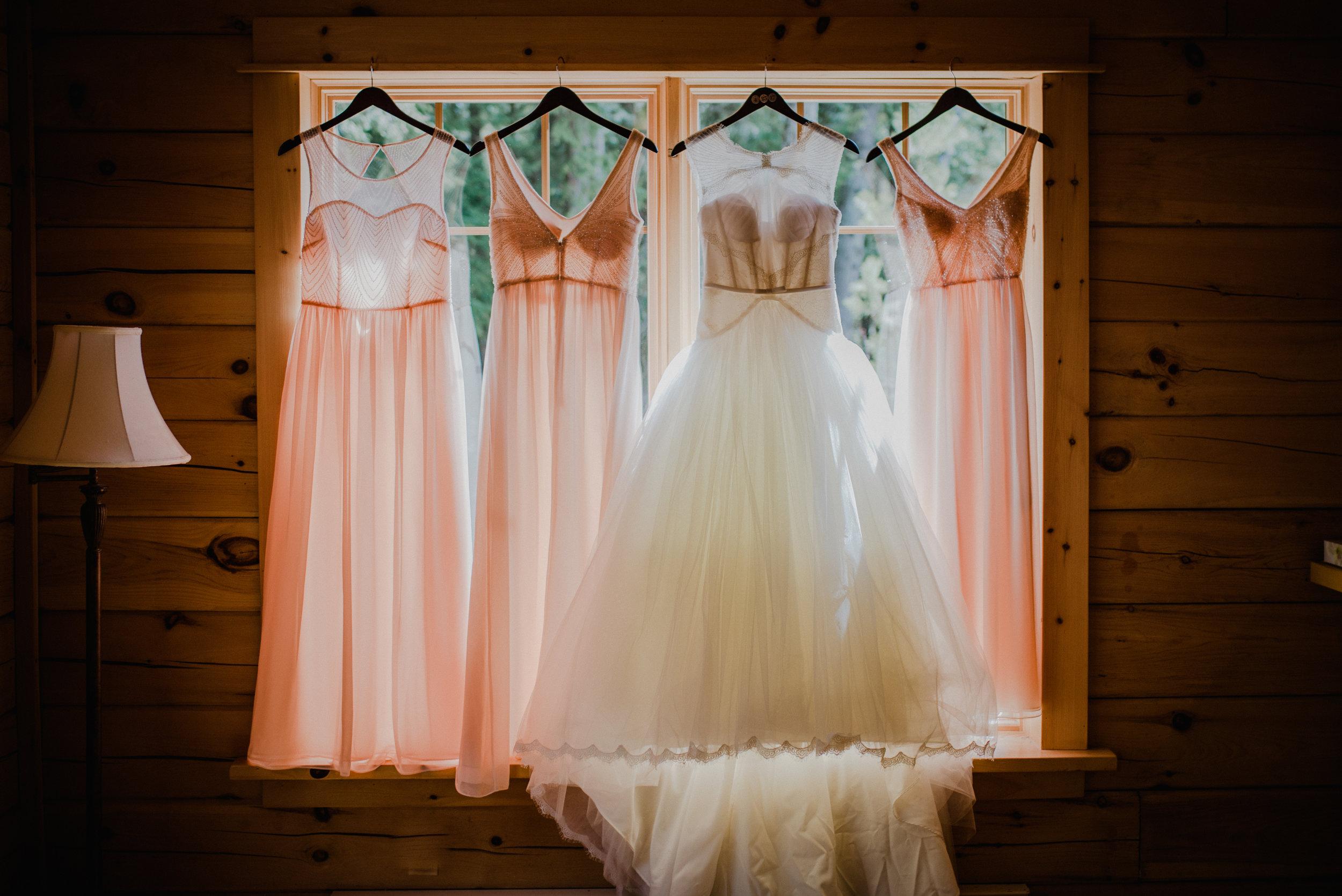 Le Belvedere, Wakefield Wedding - Wedding Dress