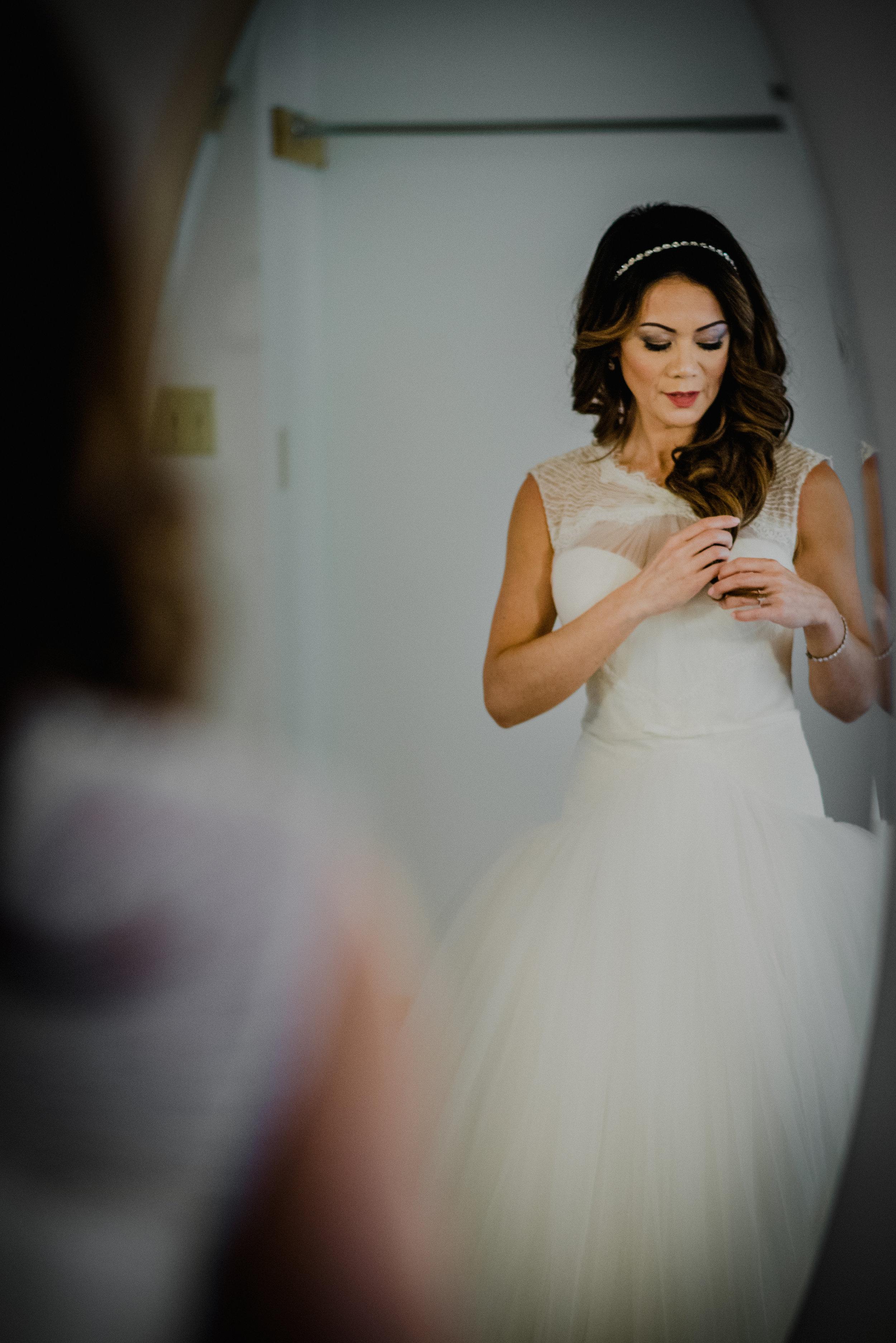 Le Belvedere, Wakefield Wedding - Bride