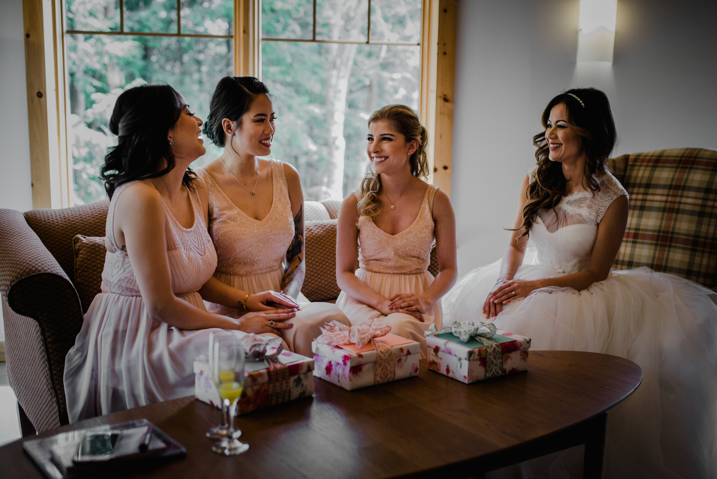 Le Belvedere, Wakefield Wedding - Bridesmaids