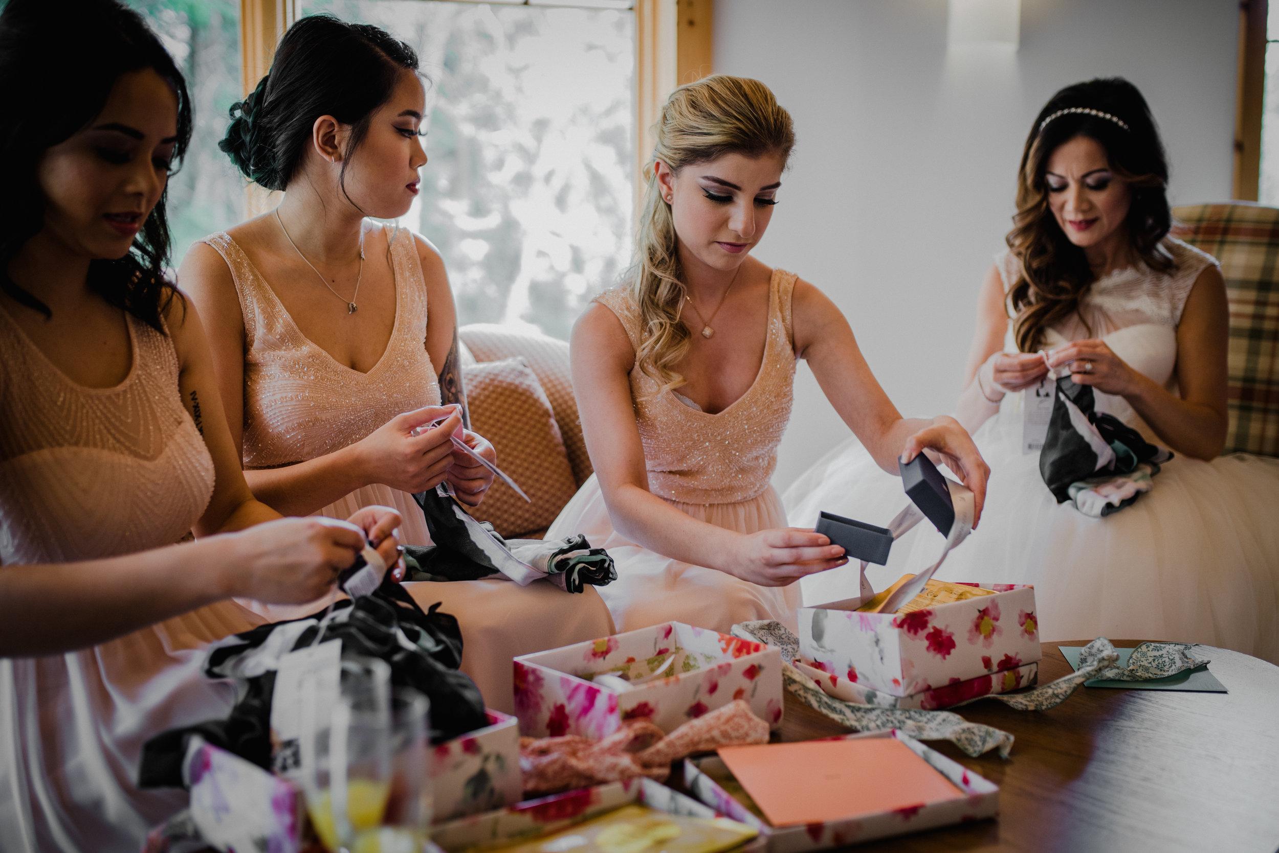 Le Belvedere, Wakefield Wedding - Bridesmaid 2