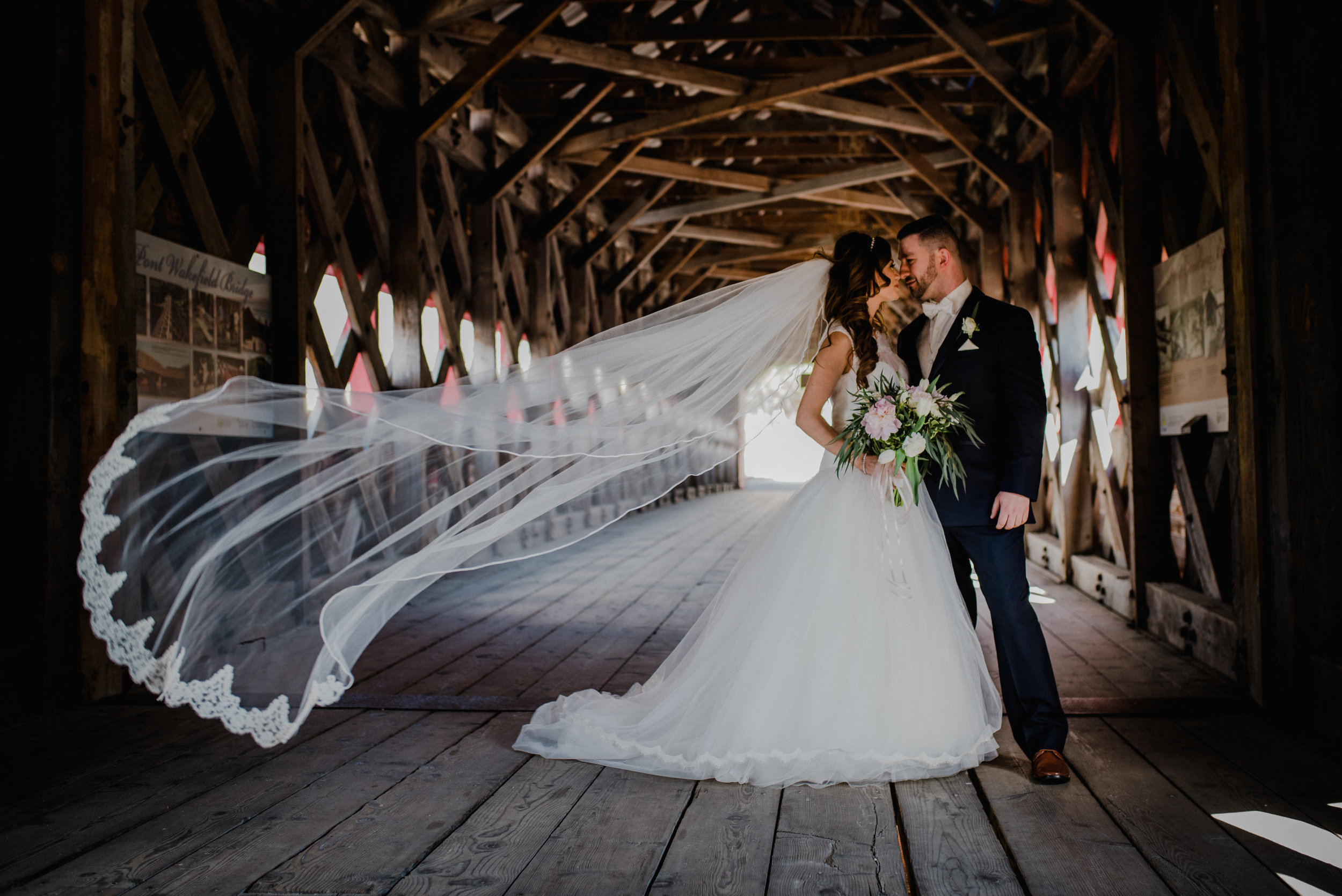 Le Belvedere, Wakefield Wedding - Firs Look 4