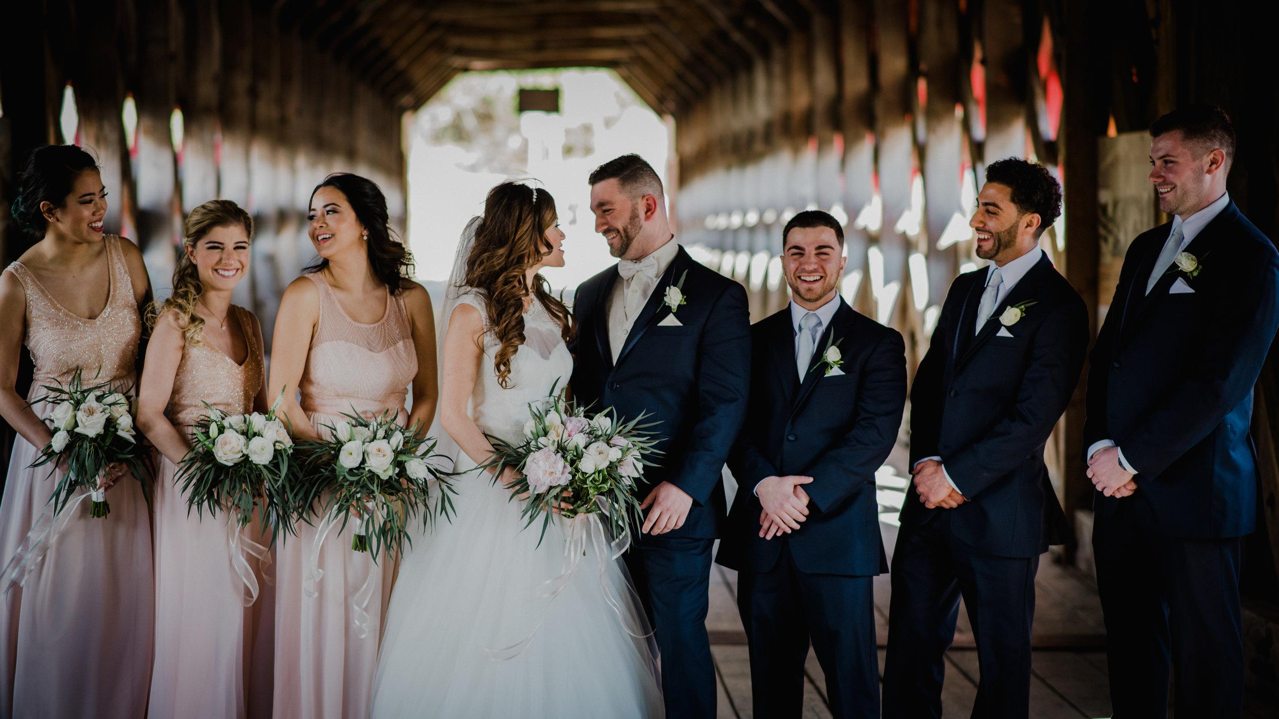 Le Belvedere, Wakefield Wedding - Wedding Party 1