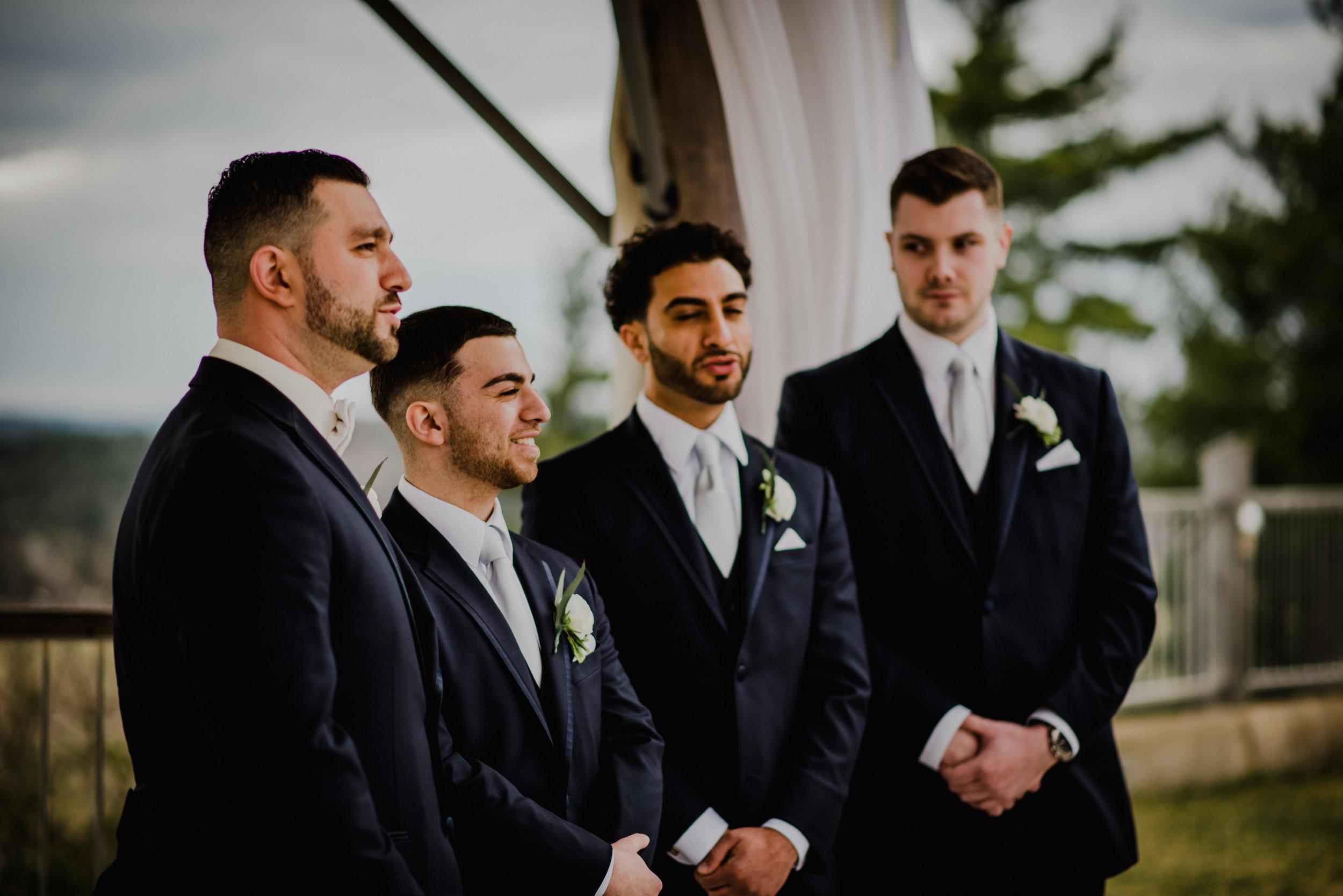 Le Belvedere, Wakefield Wedding - Ceremony