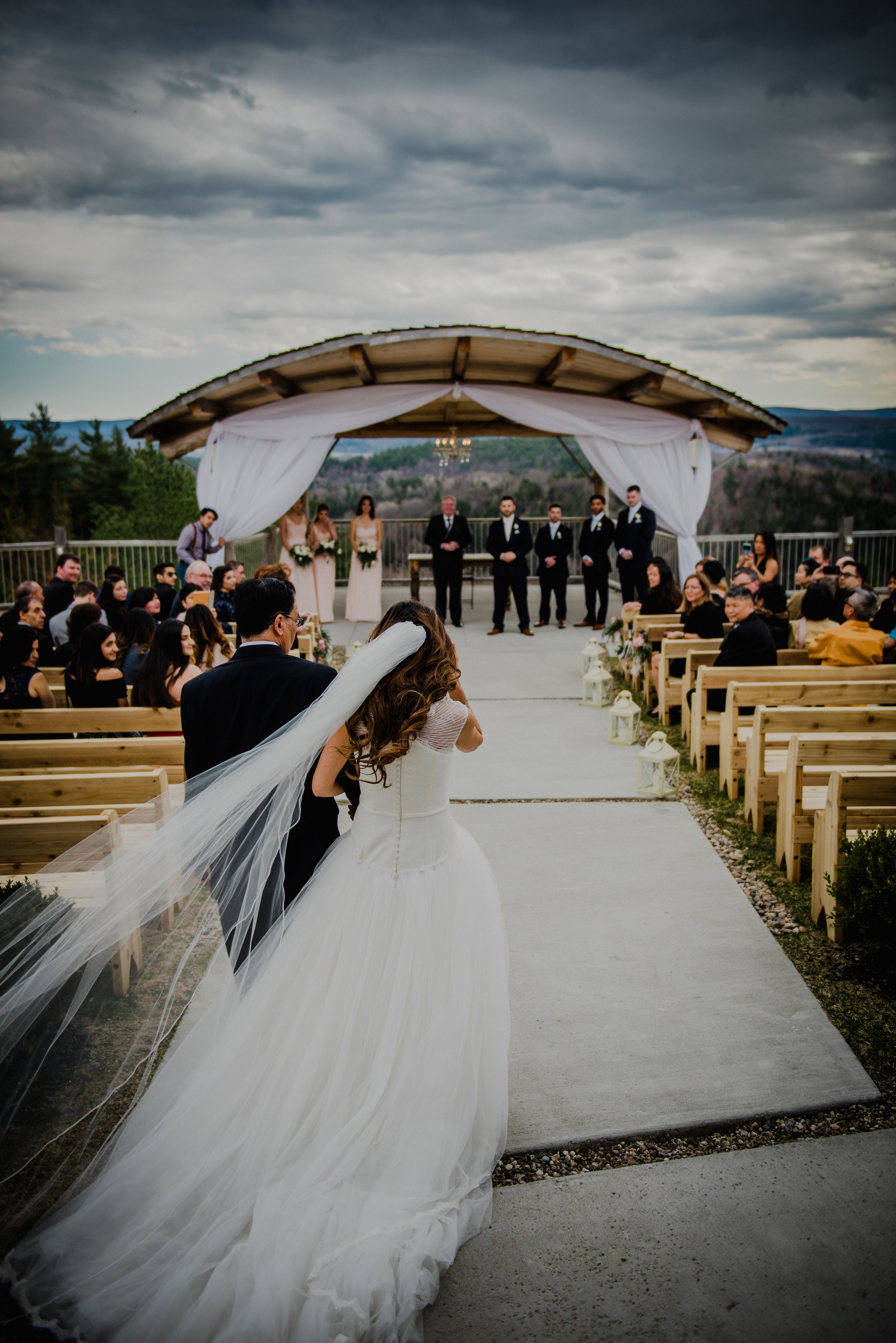 Le Belvedere, Wakefield Wedding - Ceremony 2