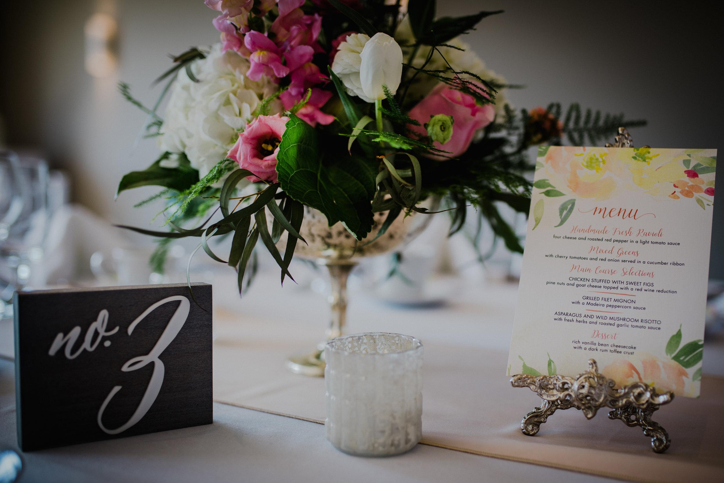 e Belvedere, Wakefield Wedding - Reception Details 2