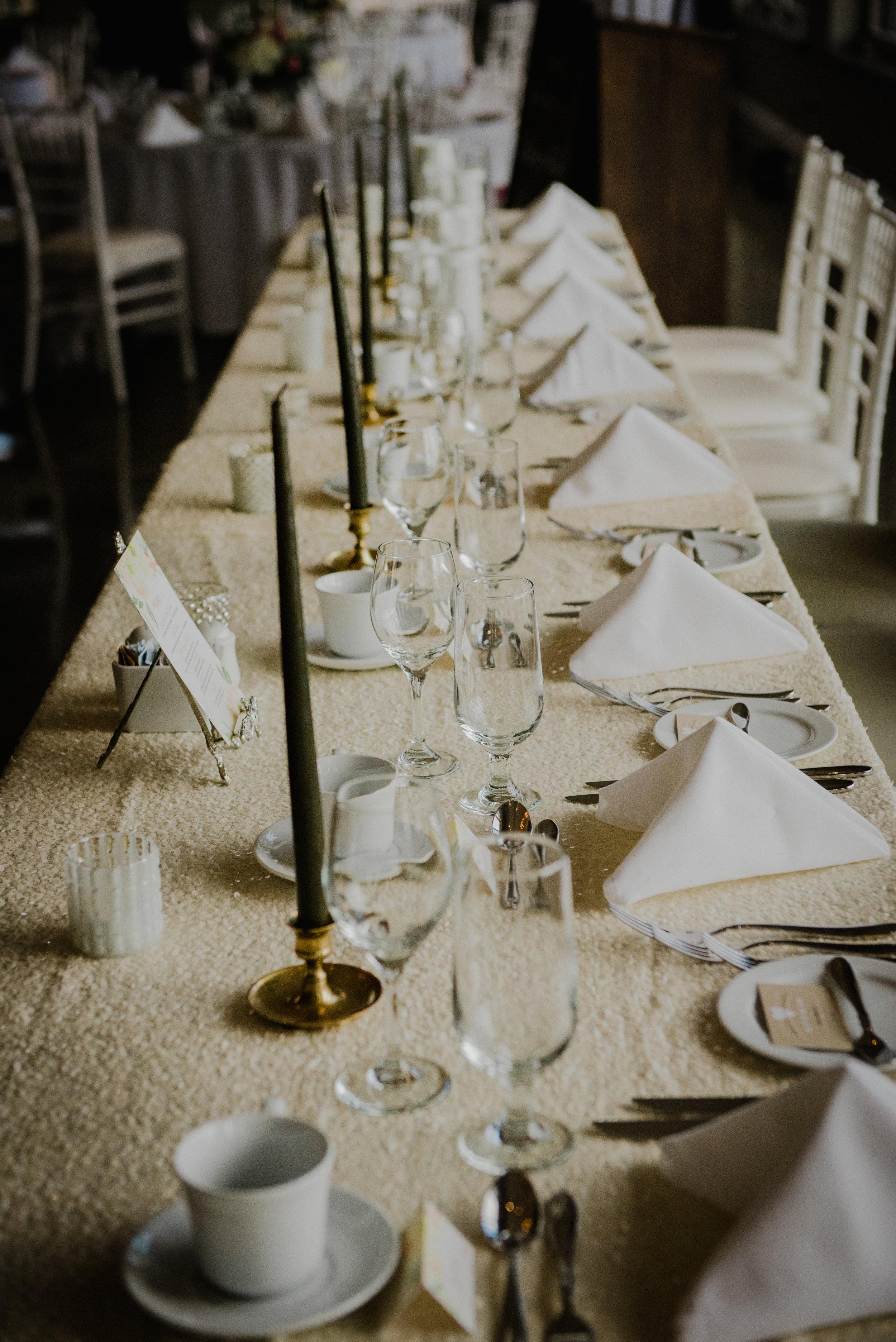 e Belvedere, Wakefield Wedding - Reception Details 7