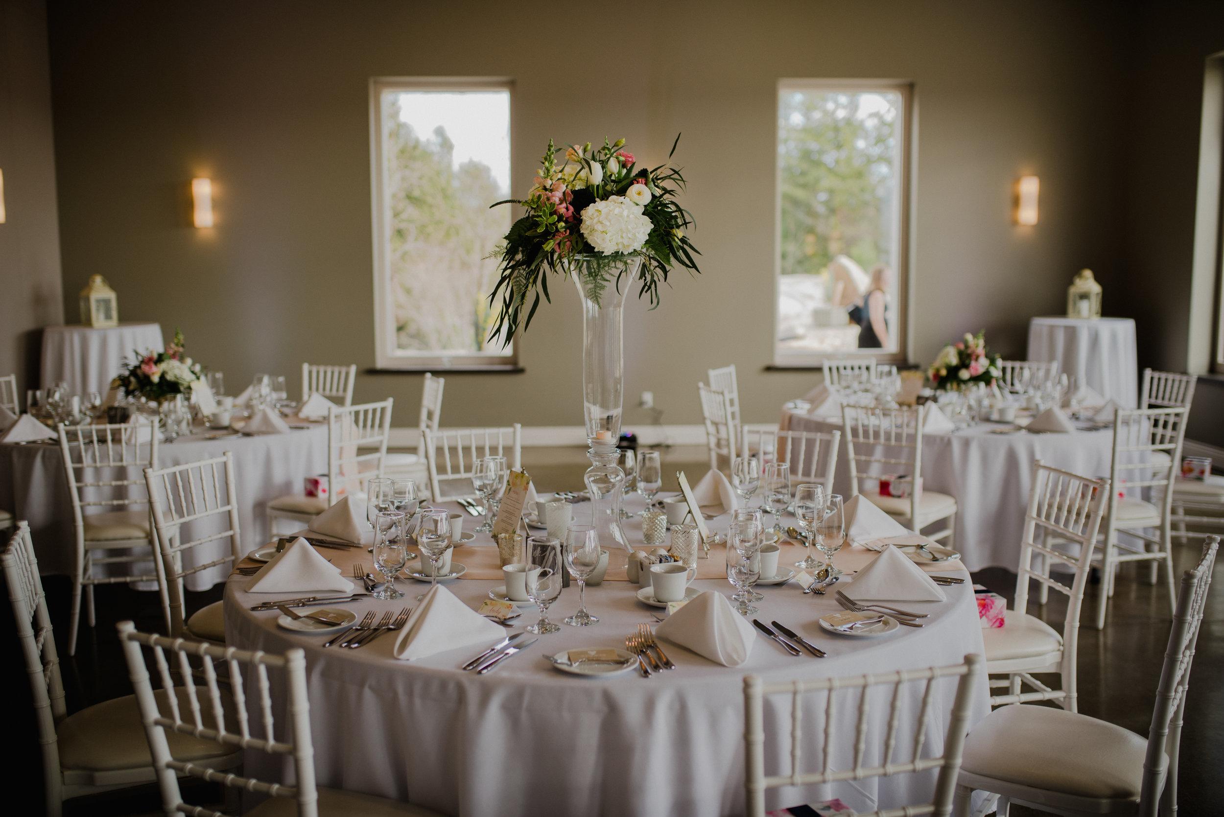 e Belvedere, Wakefield Wedding - Reception Details 9