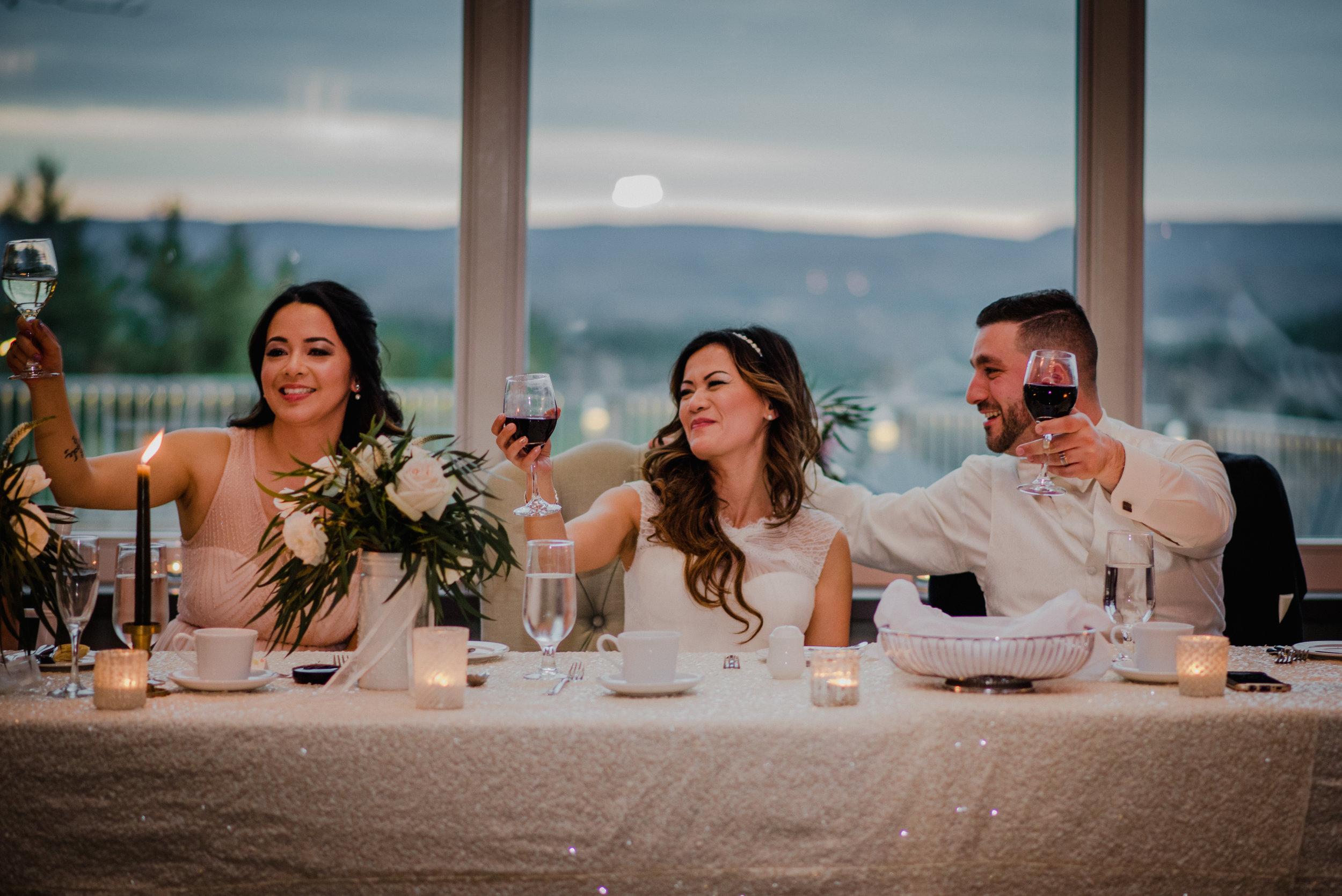 e Belvedere, Wakefield Wedding - Dinner Party 5