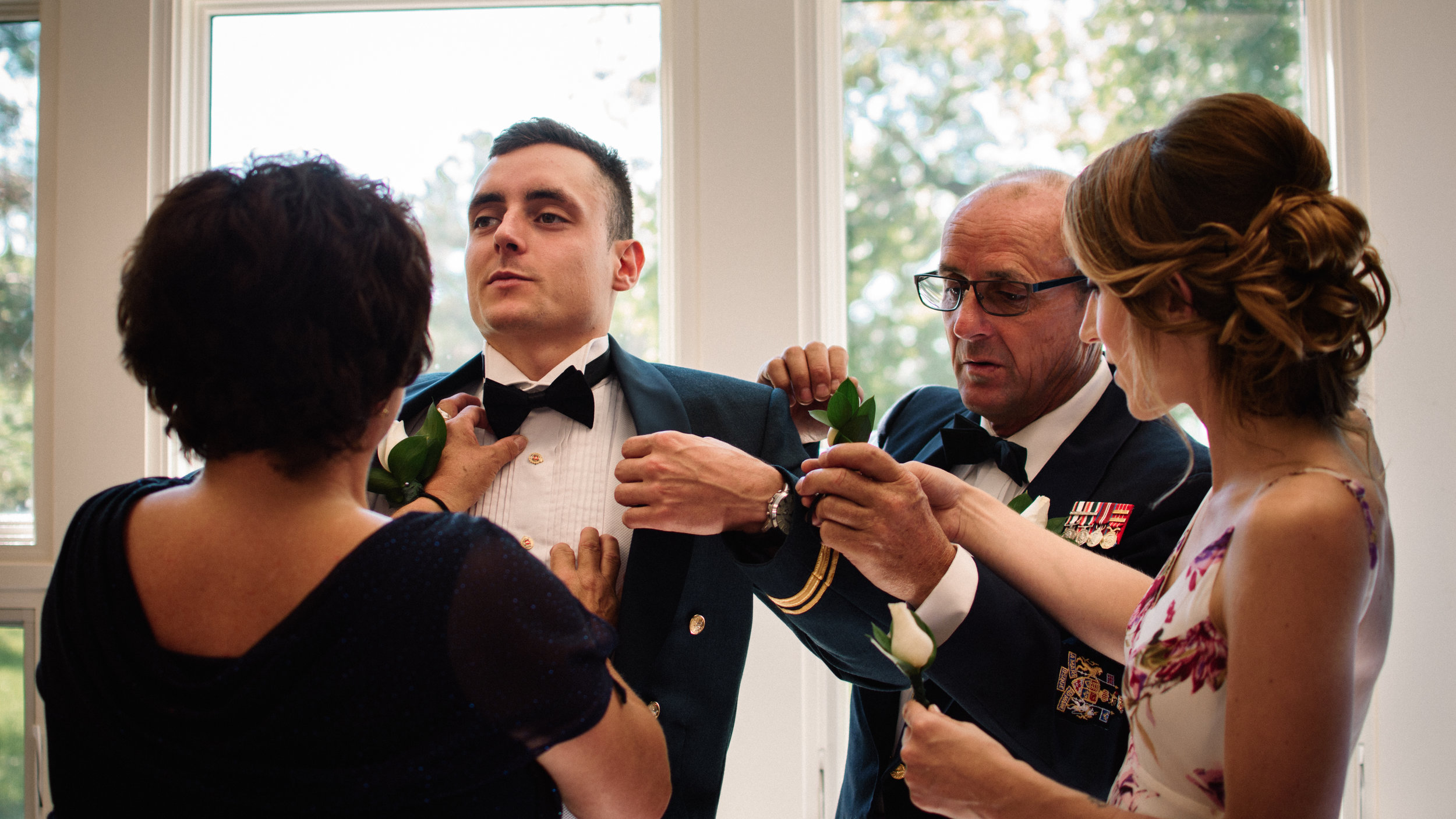 Airforce Mess Hall Wedding Ottawa