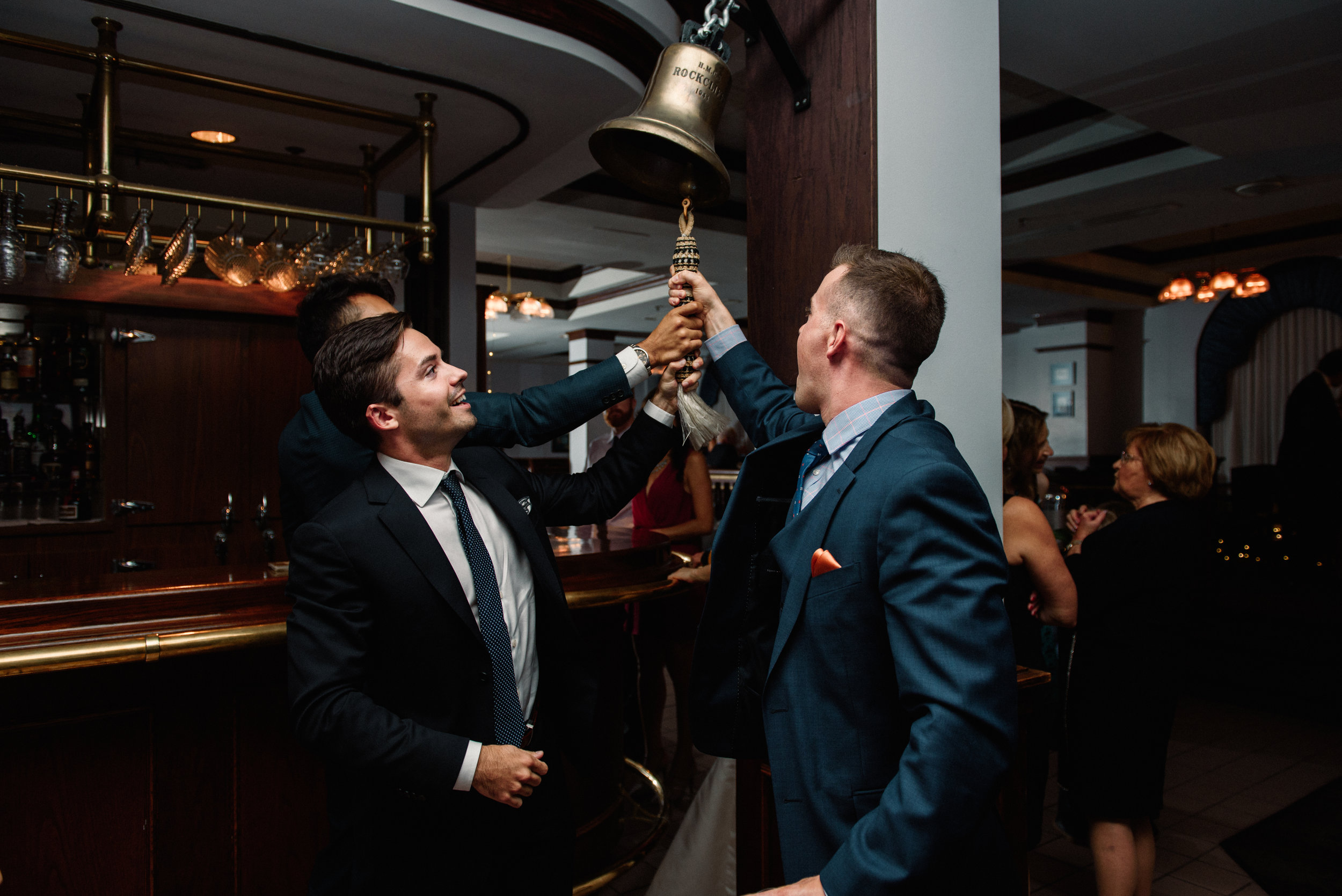 Junior Officer's Mess Hall Wedding Bell
