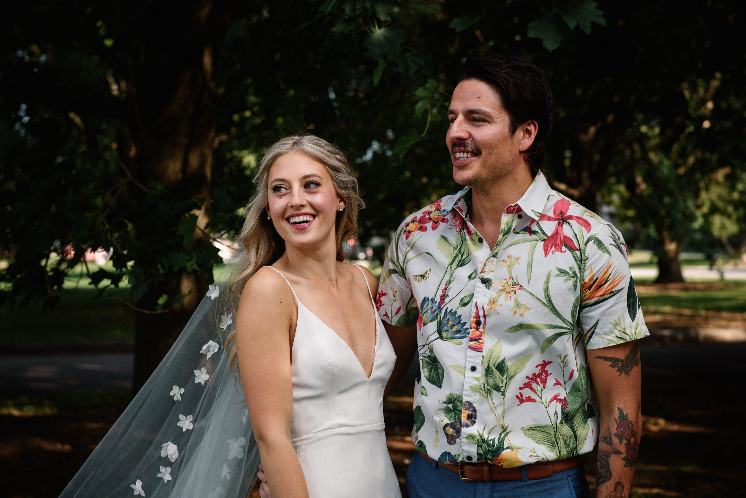 Hawaiian Themed Wedding Hamilton Ottawa Photographer