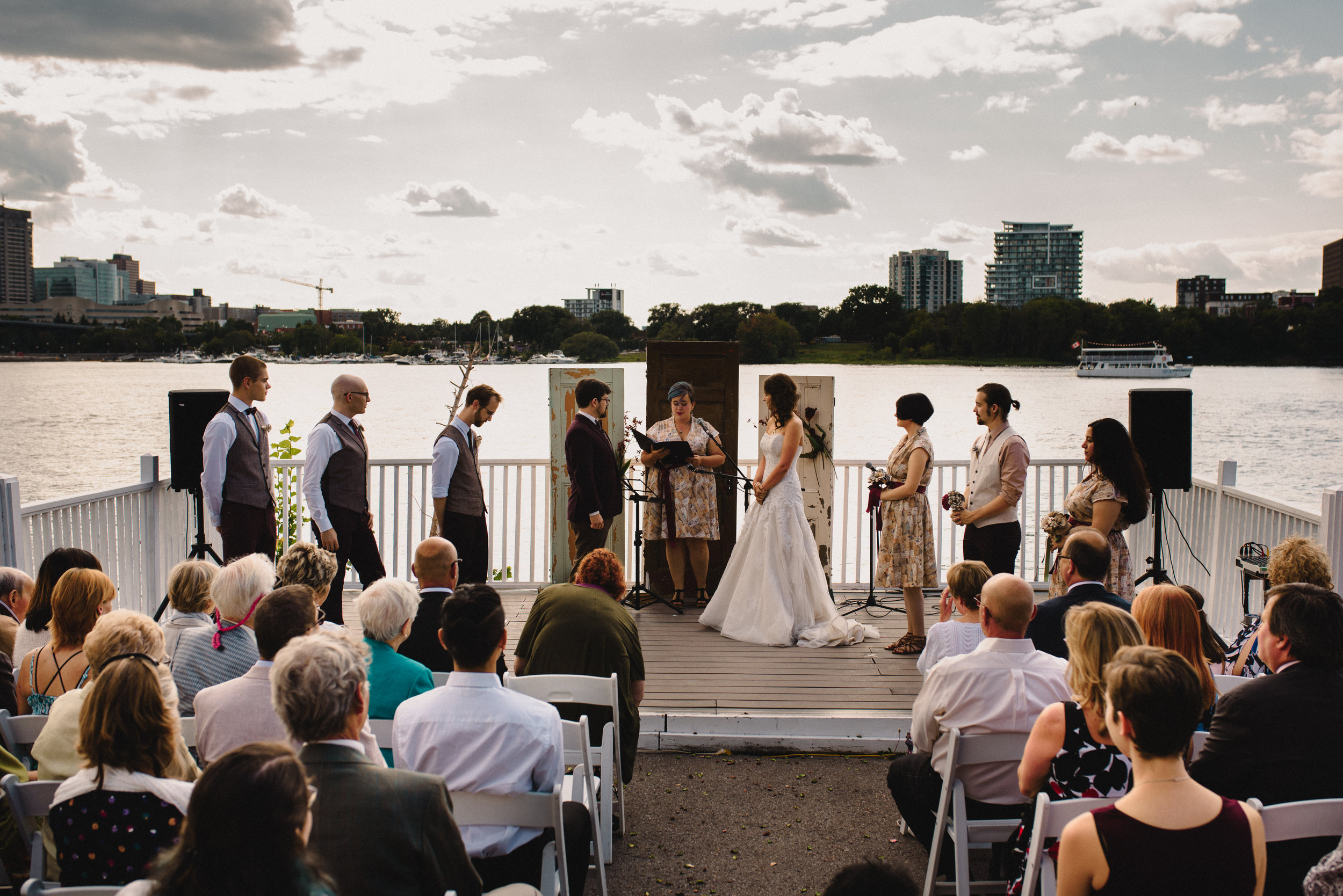 Mocha Tree Studios Ottawa Wedding and Engagement Photographer and Videographer Dark Moody Intimate Authentic Modern Romantic Cinematic Best Candid Ottawa Rowing Club 31