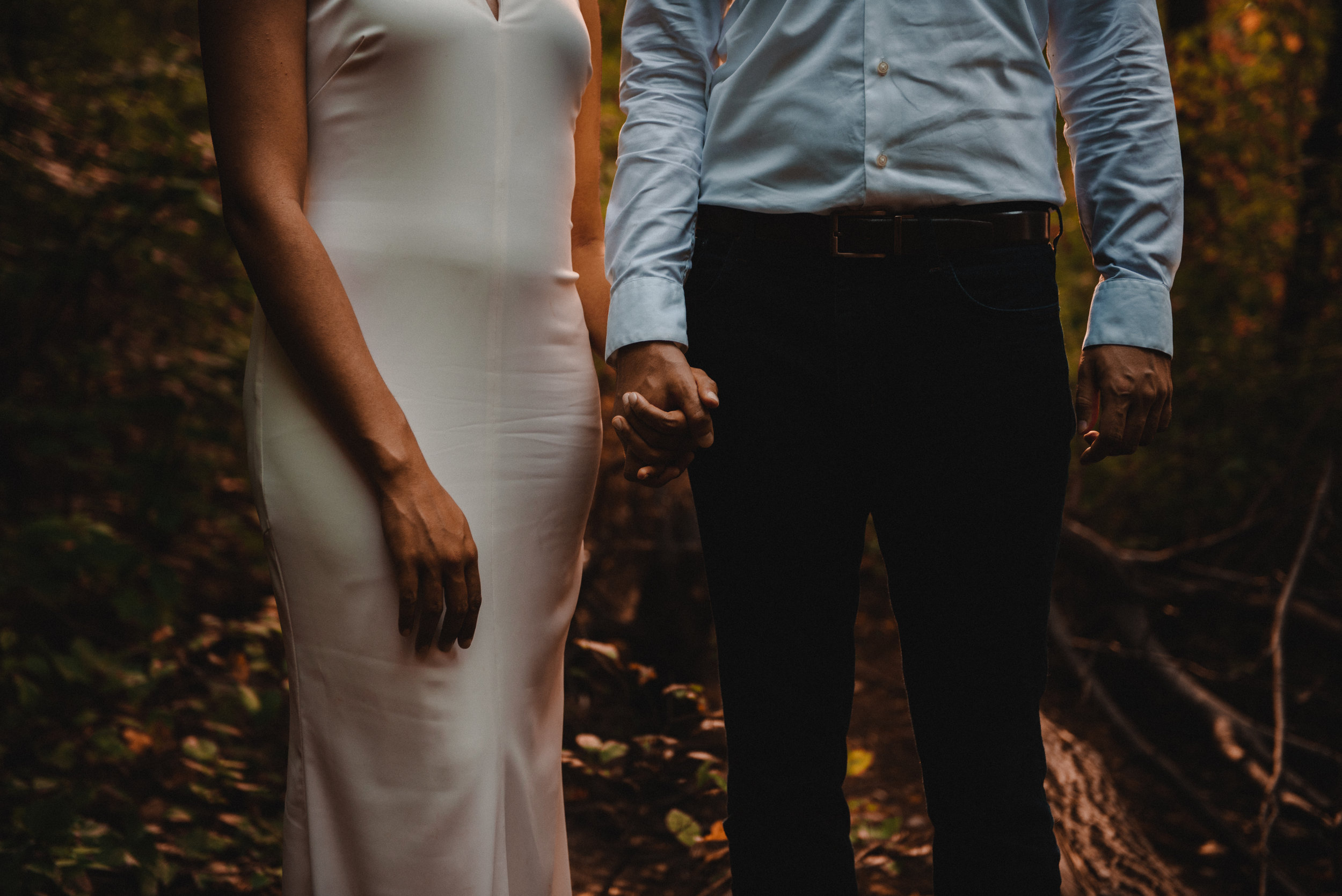 Mocha Tree Studios Ottawa Wedding and Engagement Photographer and Videographer Dark Moody Intimate Authentic Modern Romantic Cinematic Best Candid Princess Louise Falls 8