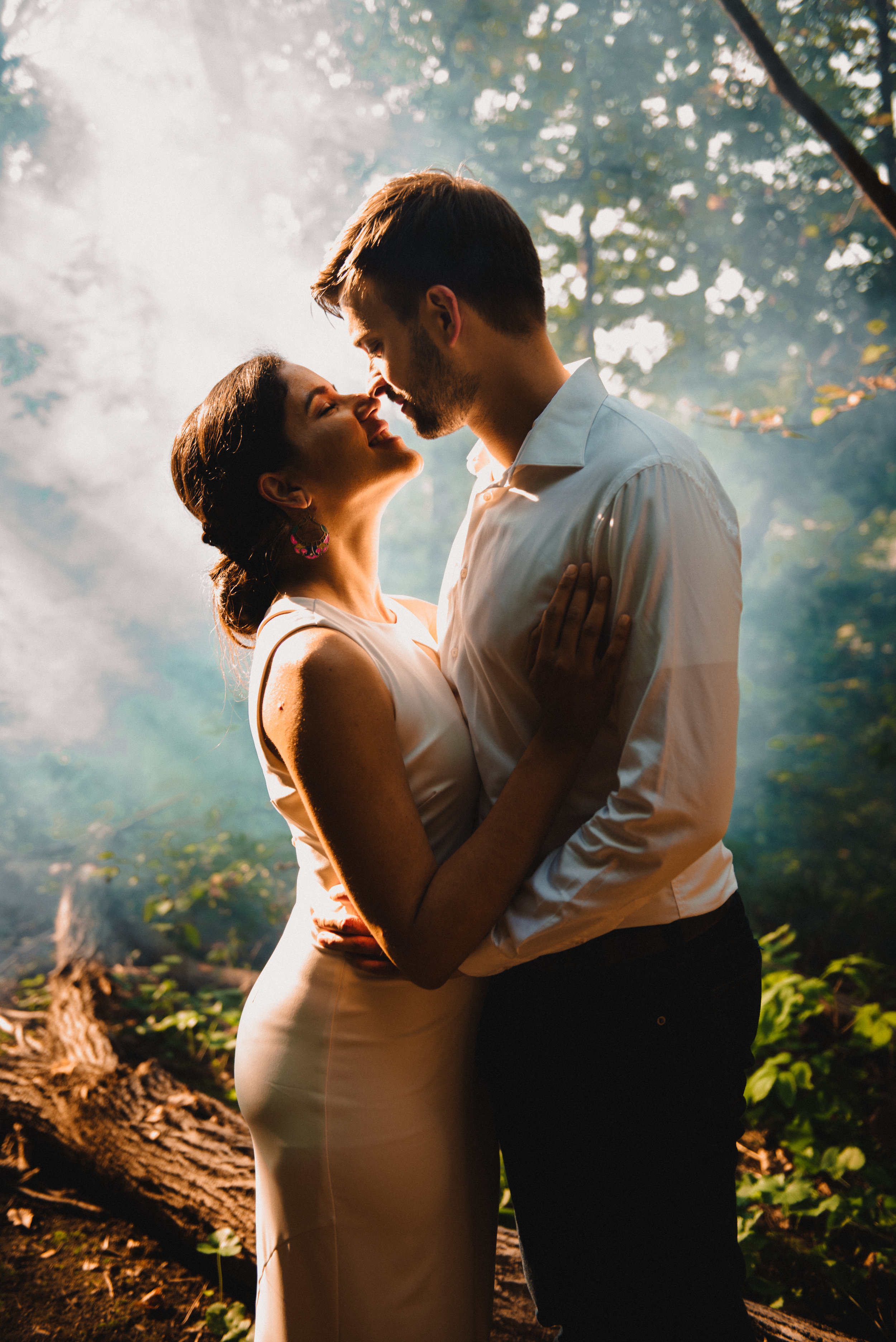 Mocha Tree Studios Ottawa Wedding and Engagement Photographer and Videographer Dark Moody Intimate Authentic Modern Romantic Cinematic Best Candid Princess Louise Falls 10