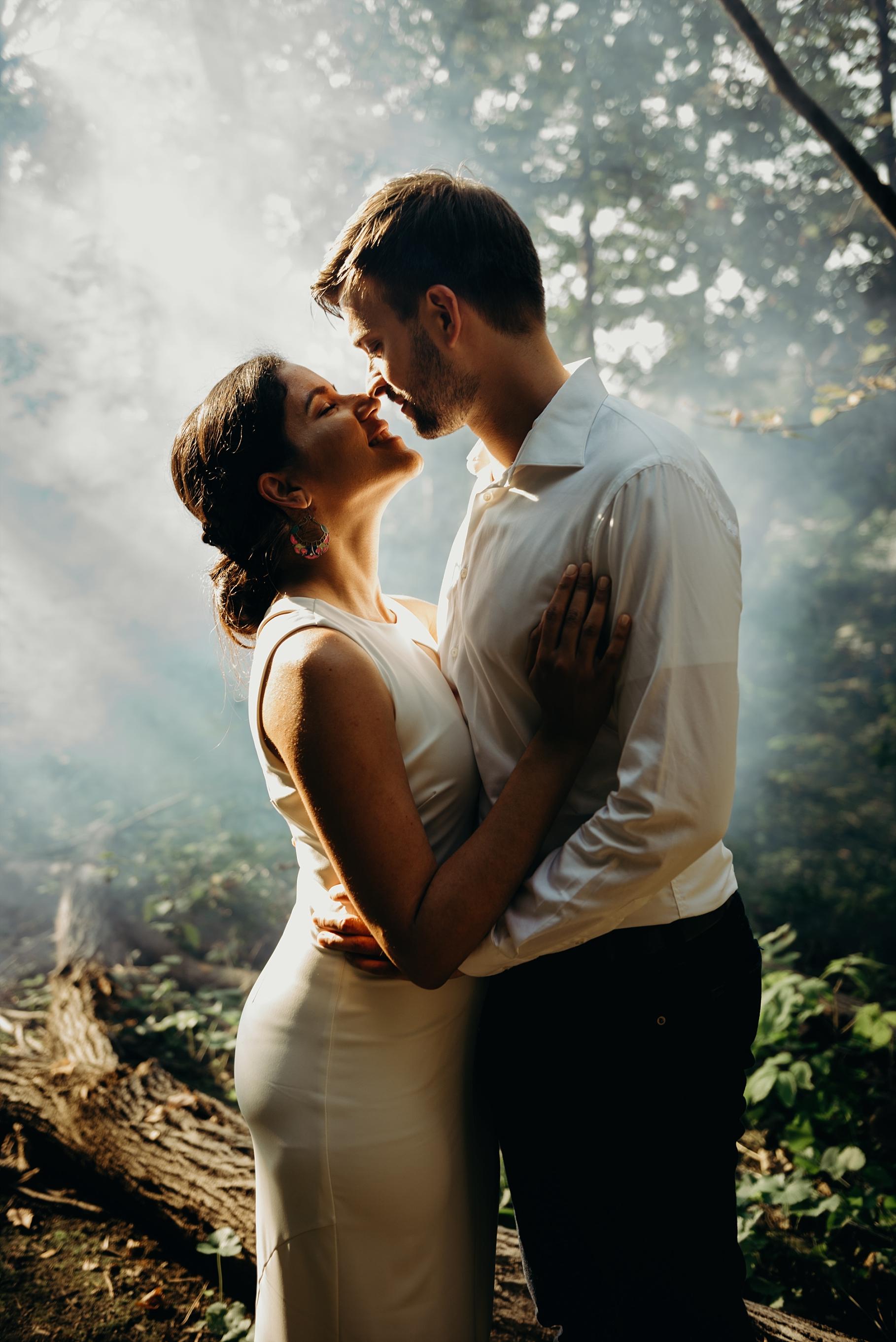 Princess Louise Falls Engagement Wedding