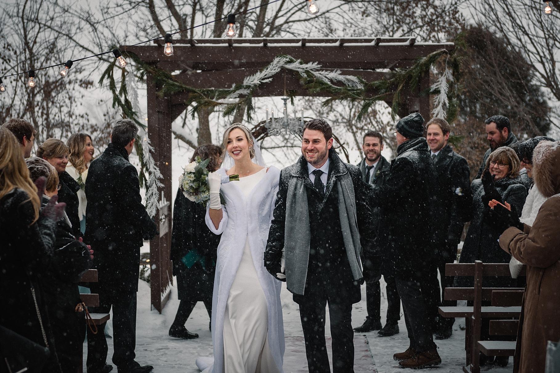 Strathemere Winter Wedding