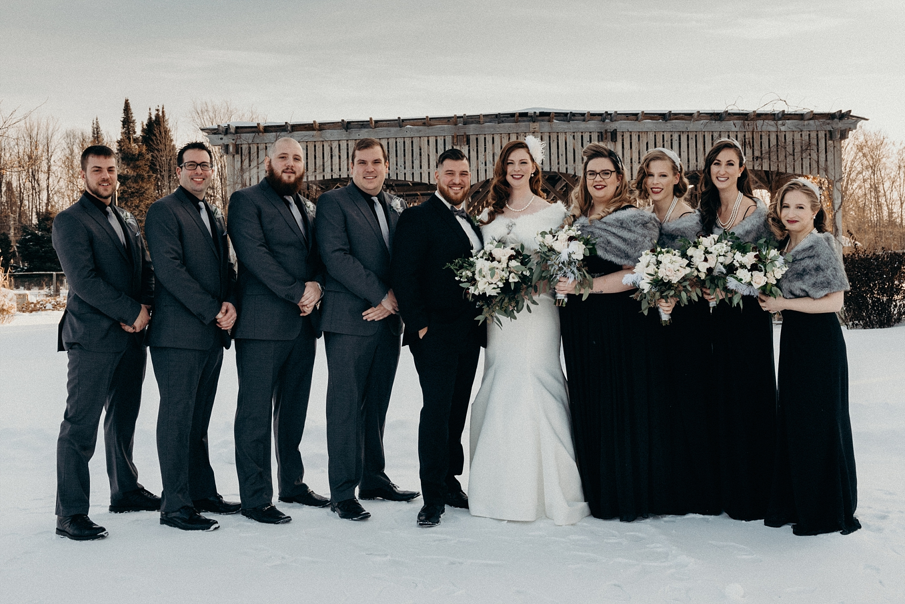 Orchard View Wedding by Mocha Tree Studios Ottawa Wedding and Engagement Photographer and Videographer Dark Moody Intimate Authentic Modern Romantic Cinematic Best Candid