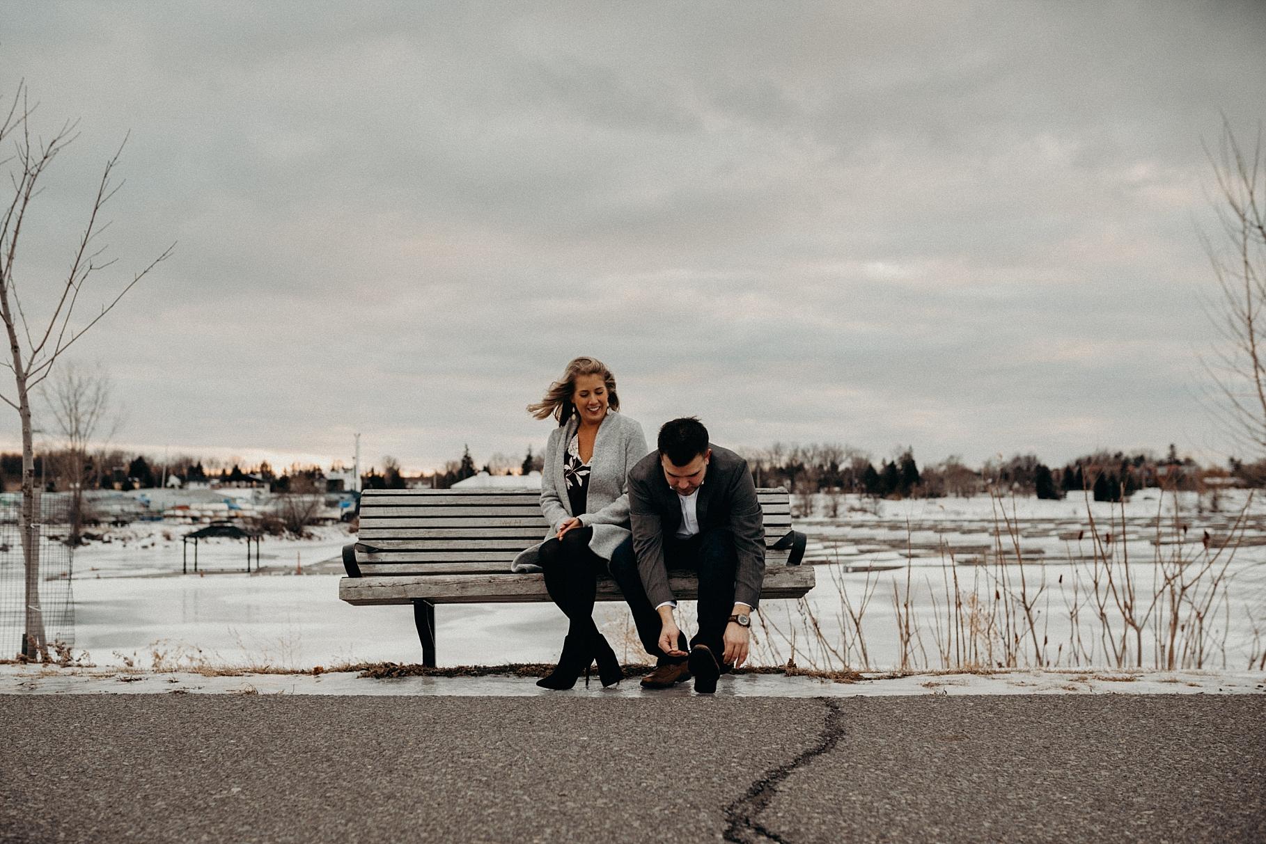 Mocha Tree Studios Ottawa Toronto Montreal Wedding and Engagement Photographer and Videographer Dark Moody Intimate Authentic Modern Romantic Cinematic Best Candid Nepean Sailing Club Andew Haydon Park 4