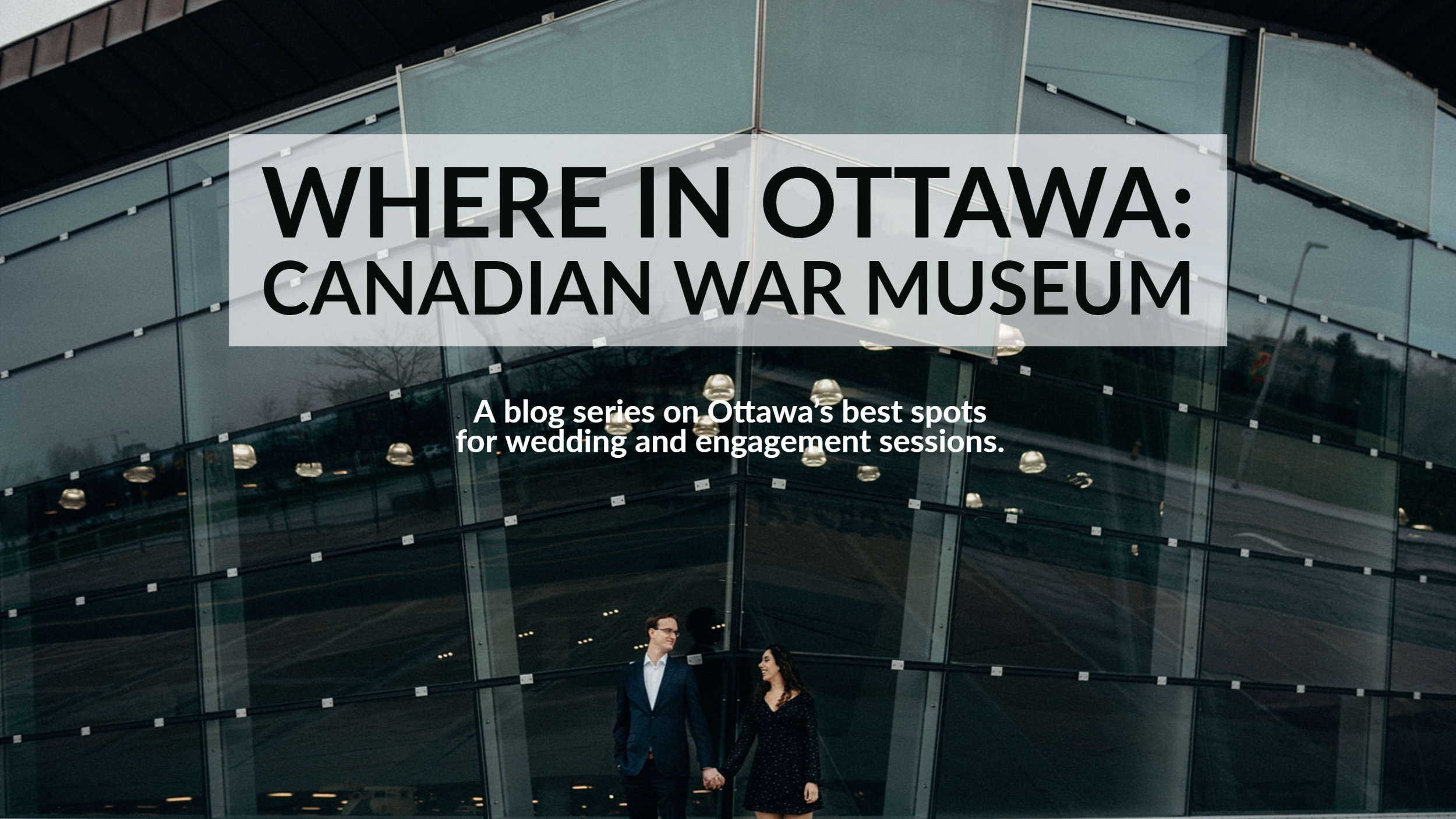 War Museum Engagement Picture Mocha Tree Studios Ottawa Toronto Montreal Wedding and Engagement Photographer and Videographer Dark Moody Intimate Authentic Modern Romantic Cinematic Best Candid