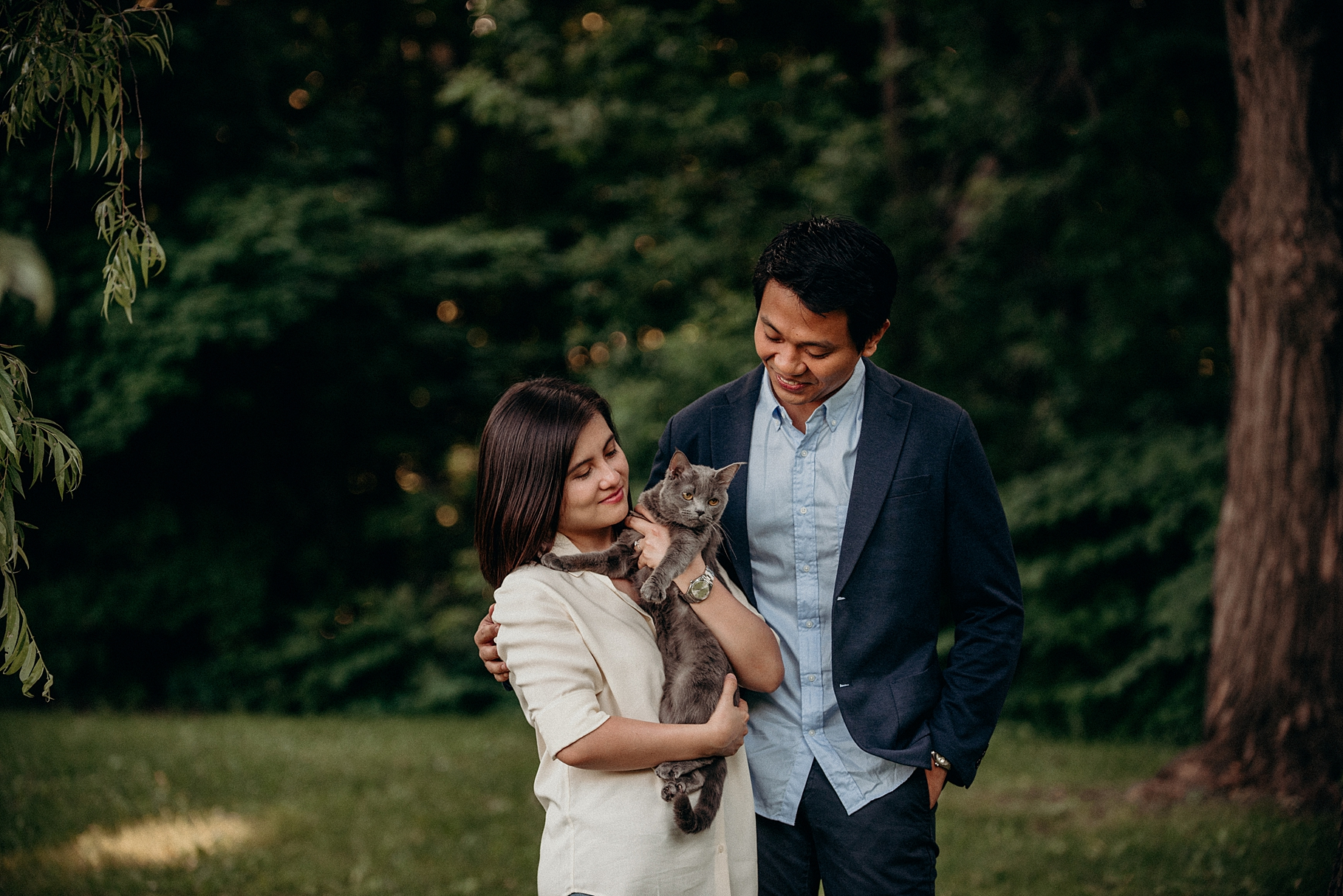 Bringing your Dog or Cat to an engagement session. Mocha Tree Studios Ottawa Toronto Montreal Wedding and Engagement Photographer and Videographer Dark Moody Intimate Authentic Modern Romantic Cinematic Best Candid 4