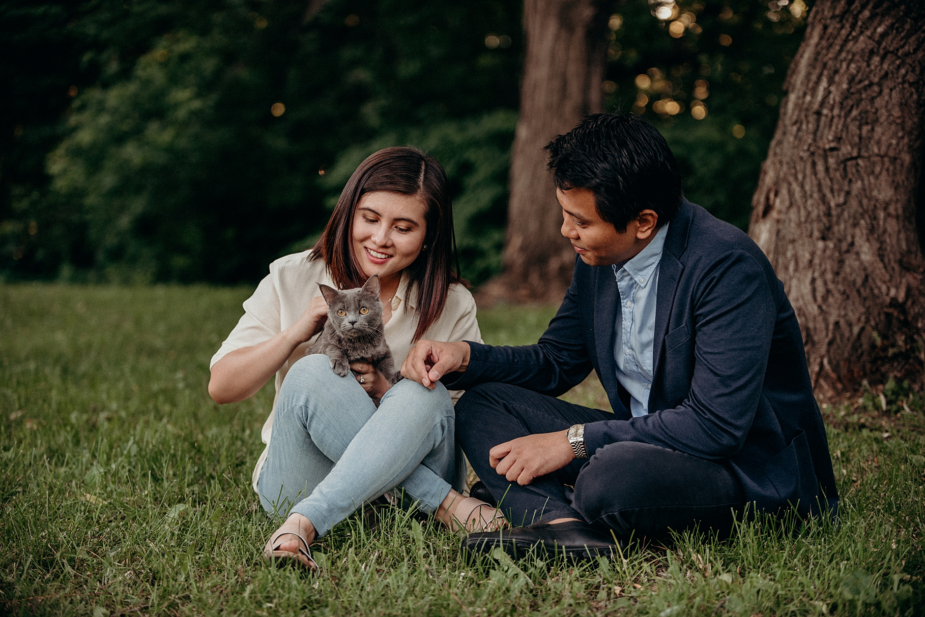 Bringing your Dog or Cat to an engagement session. Mocha Tree Studios Ottawa Toronto Montreal Wedding and Engagement Photographer and Videographer Dark Moody Intimate Authentic Modern Romantic Cinematic Best Candid 5