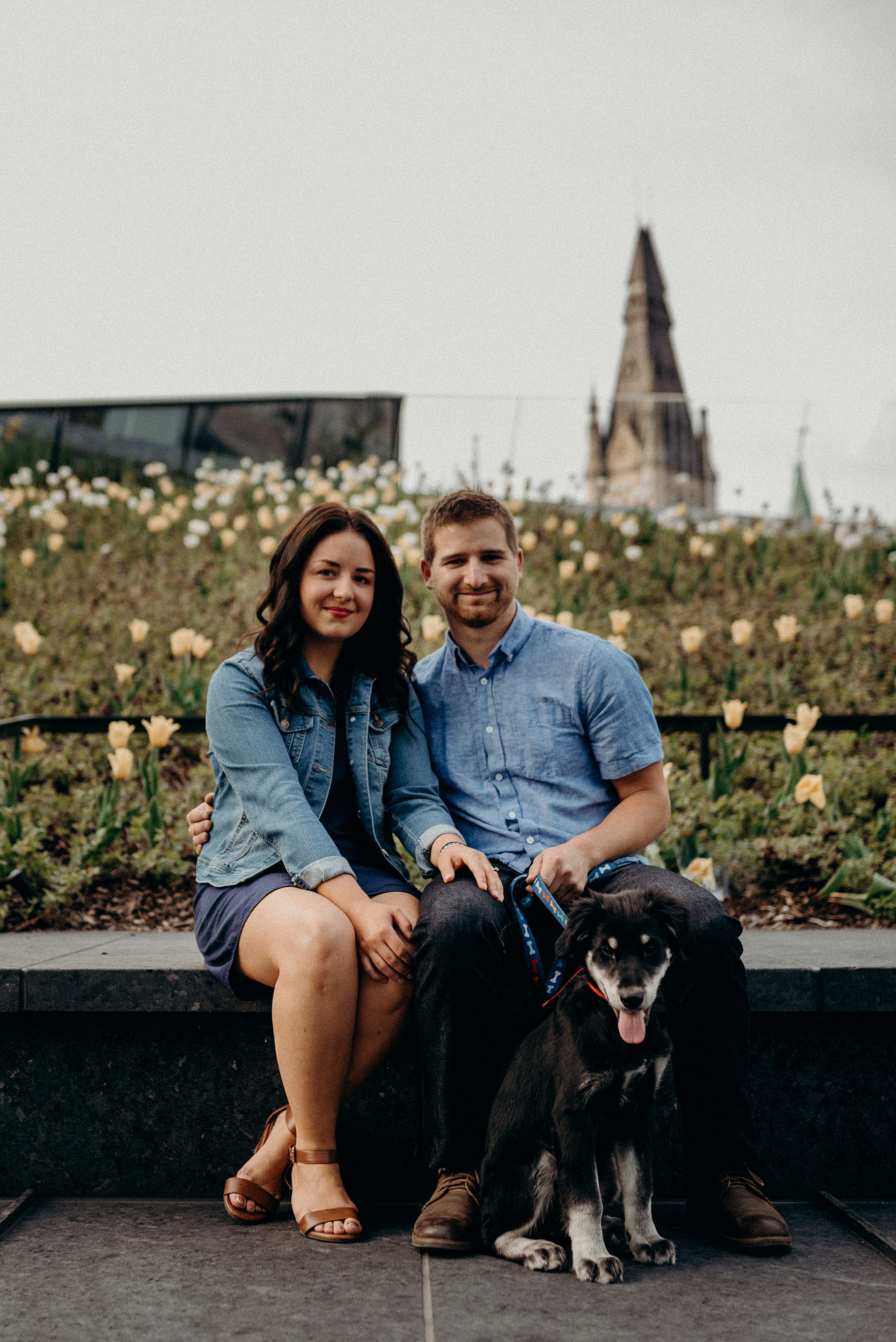 Bringing your Dog or Cat to an engagement session. Mocha Tree Studios Ottawa Toronto Montreal Wedding and Engagement Photographer and Videographer Dark Moody Intimate Authentic Modern Romantic Cinematic Best Candid 10