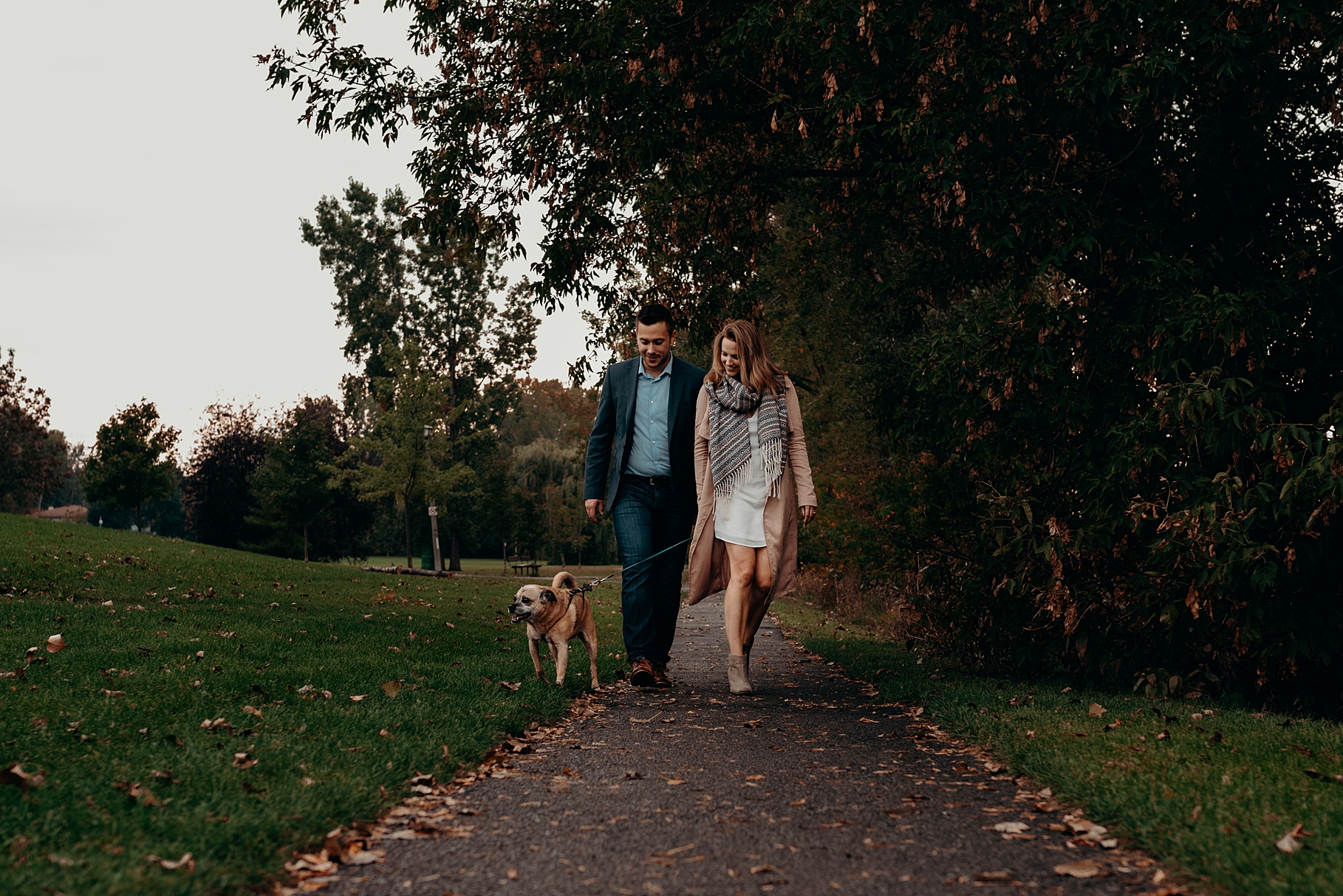 Bringing your Dog or Cat to an engagement session. Mocha Tree Studios Ottawa Toronto Montreal Wedding and Engagement Photographer and Videographer Dark Moody Intimate Authentic Modern Romantic Cinematic Best Candid 12