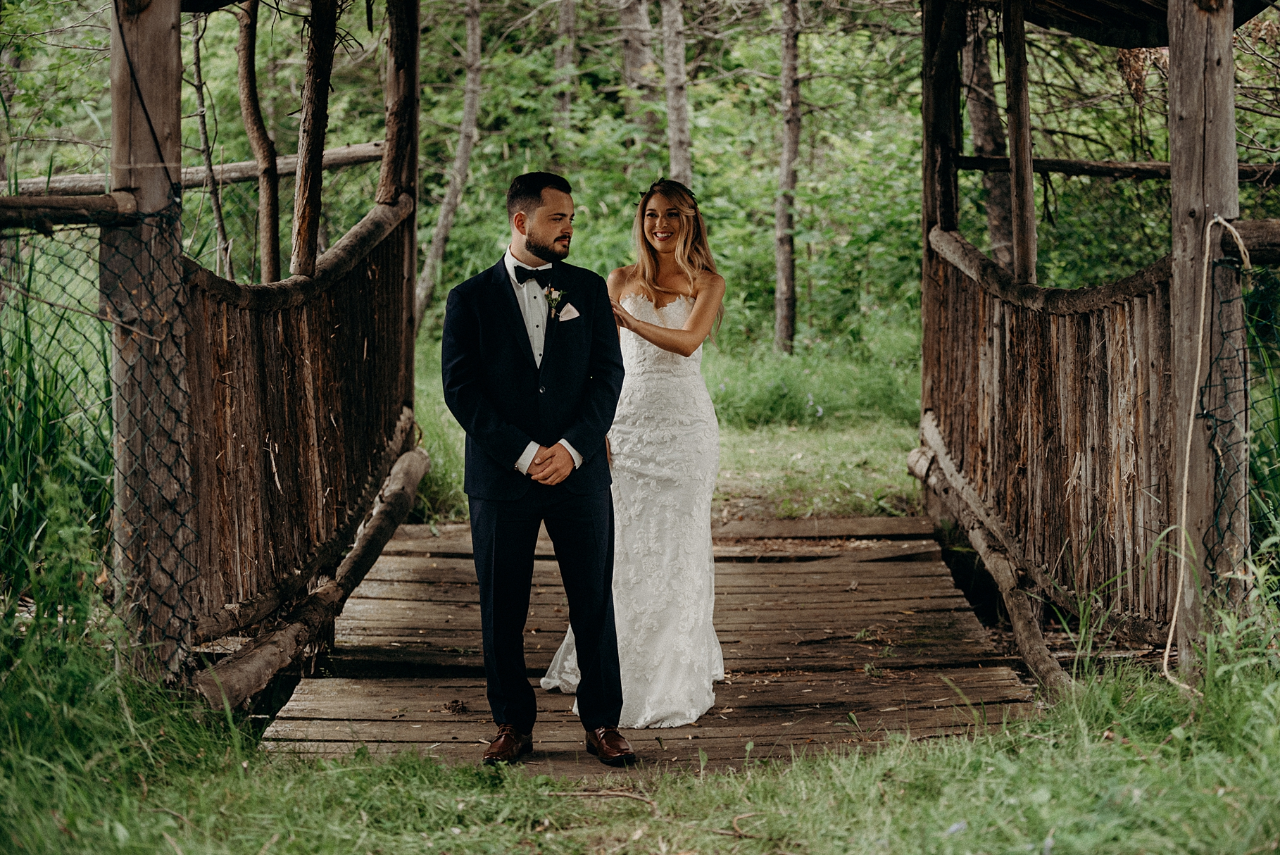Saunders Farm Wedding Mocha Tree Studios Ottawa Toronto Montreal Wedding and Engagement Photographer and Videographer Dark Moody Intimate Authentic Modern Romantic Cinematic Best Candid First Look 22