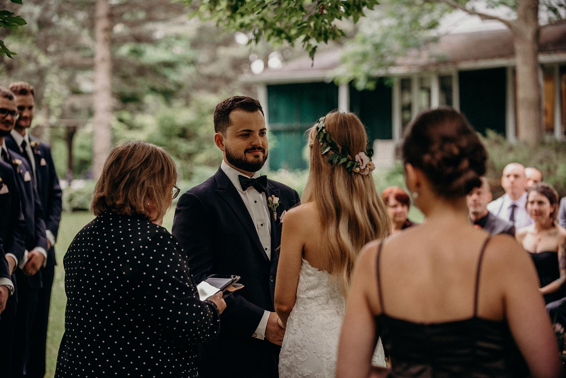Saunders Farm Wedding Mocha Tree Studios Ottawa Toronto Montreal Wedding and Engagement Photographer and Videographer Dark Moody Intimate Authentic Modern Romantic Cinematic Best Candid 24