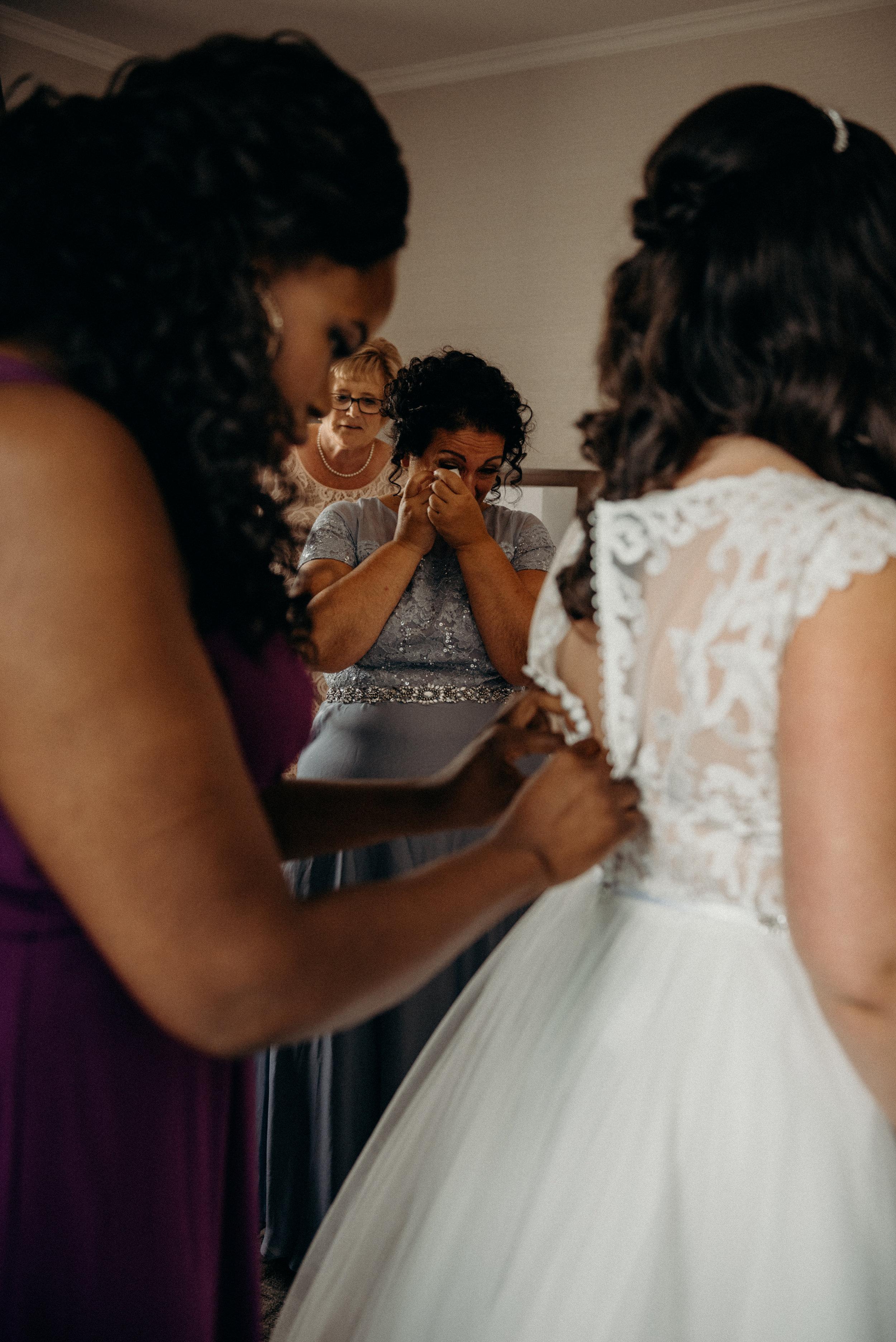 Mother of the Bride Crying Mocha Tree Studios Ottawa Wedding