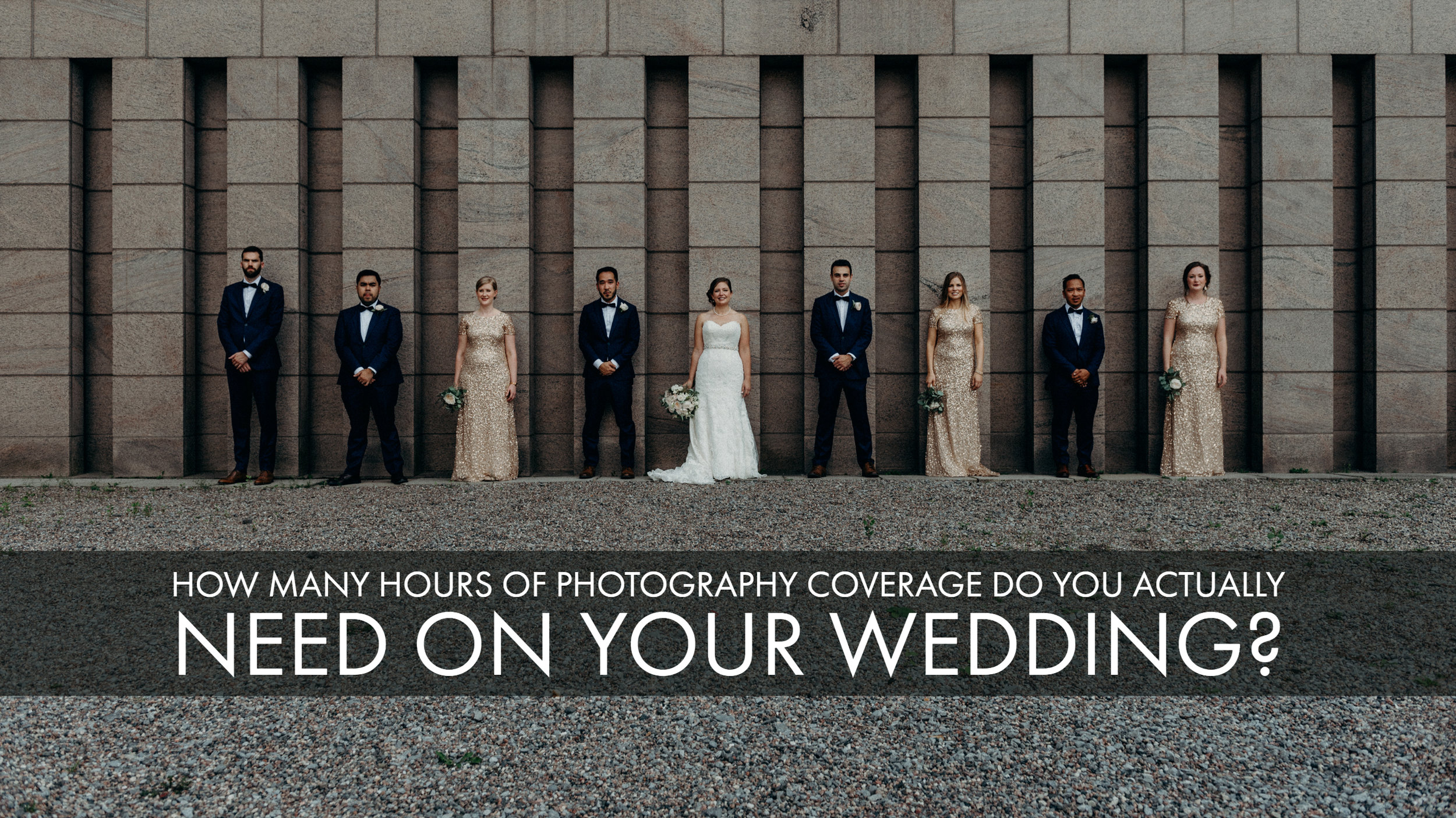 How many hours of photography coverage do you actually need?