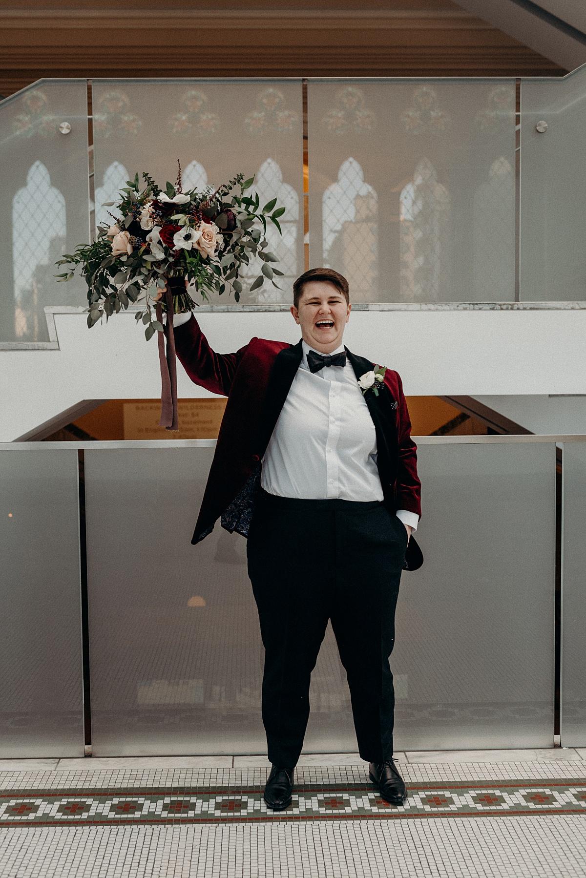 Capital Florist and Mocha Tree Studios Ottawa Wedding 5