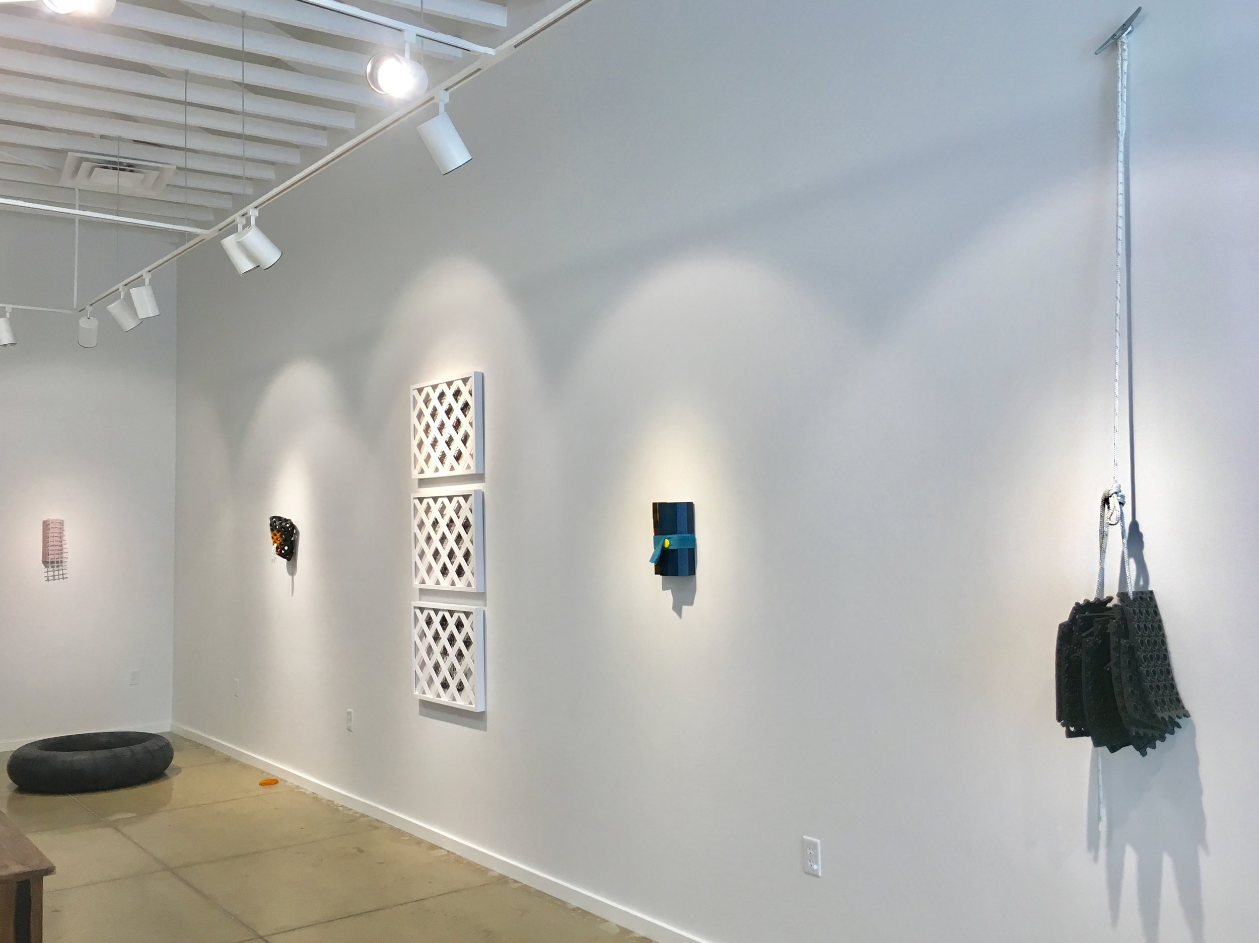 Exhibition view of  Hybrid Moments